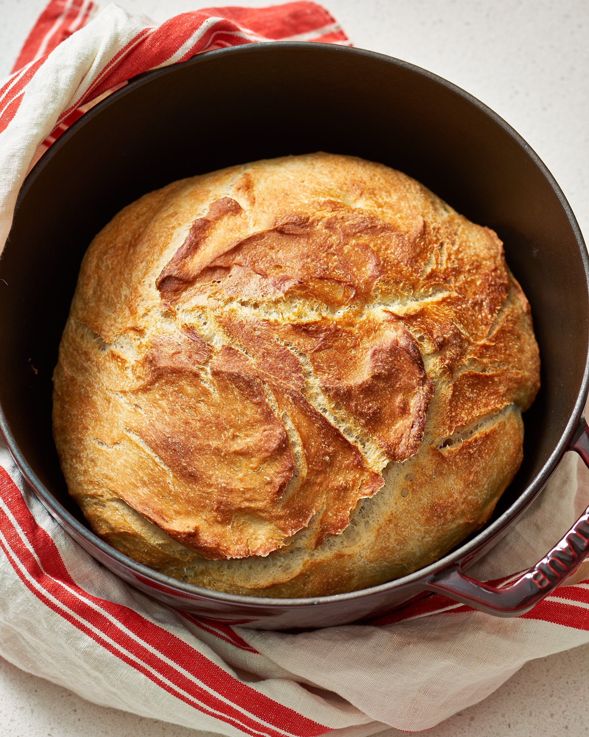 How To Make No-Time Bread in the Dutch Oven   Kitchn