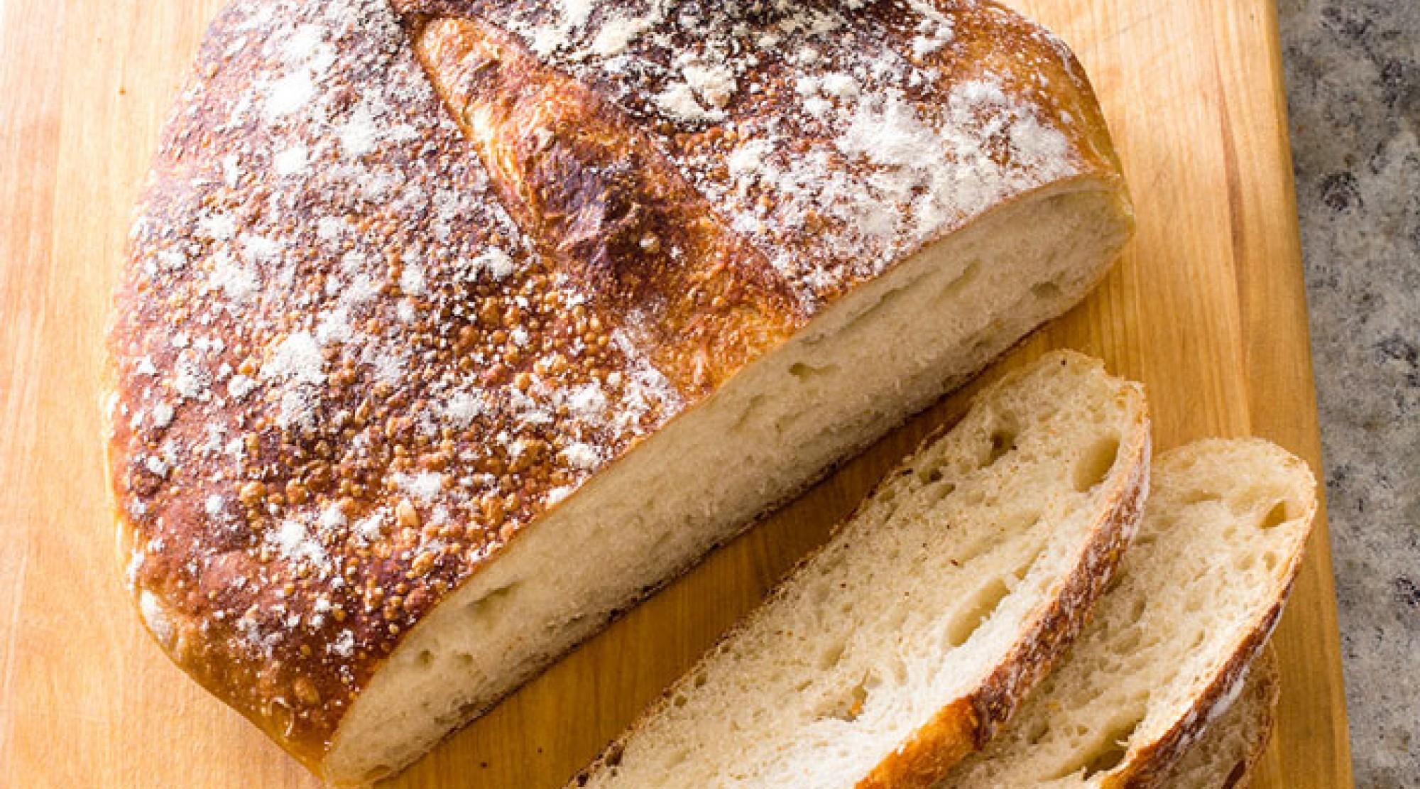 Almost No-Knead Sourdough Bread   The Splendid Table