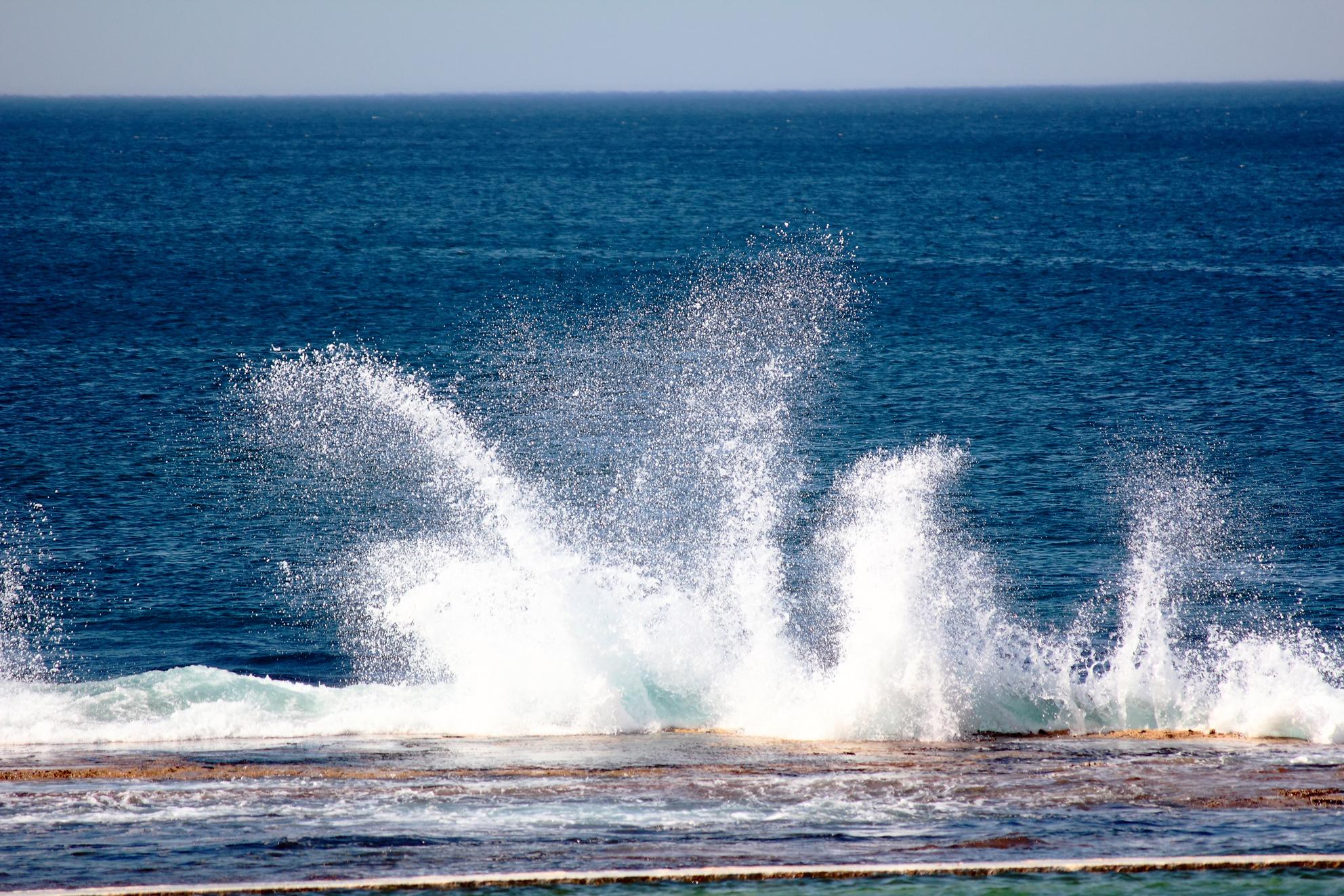 Breaking Waves, Breaking, Power, Sea, Wave, HQ Photo