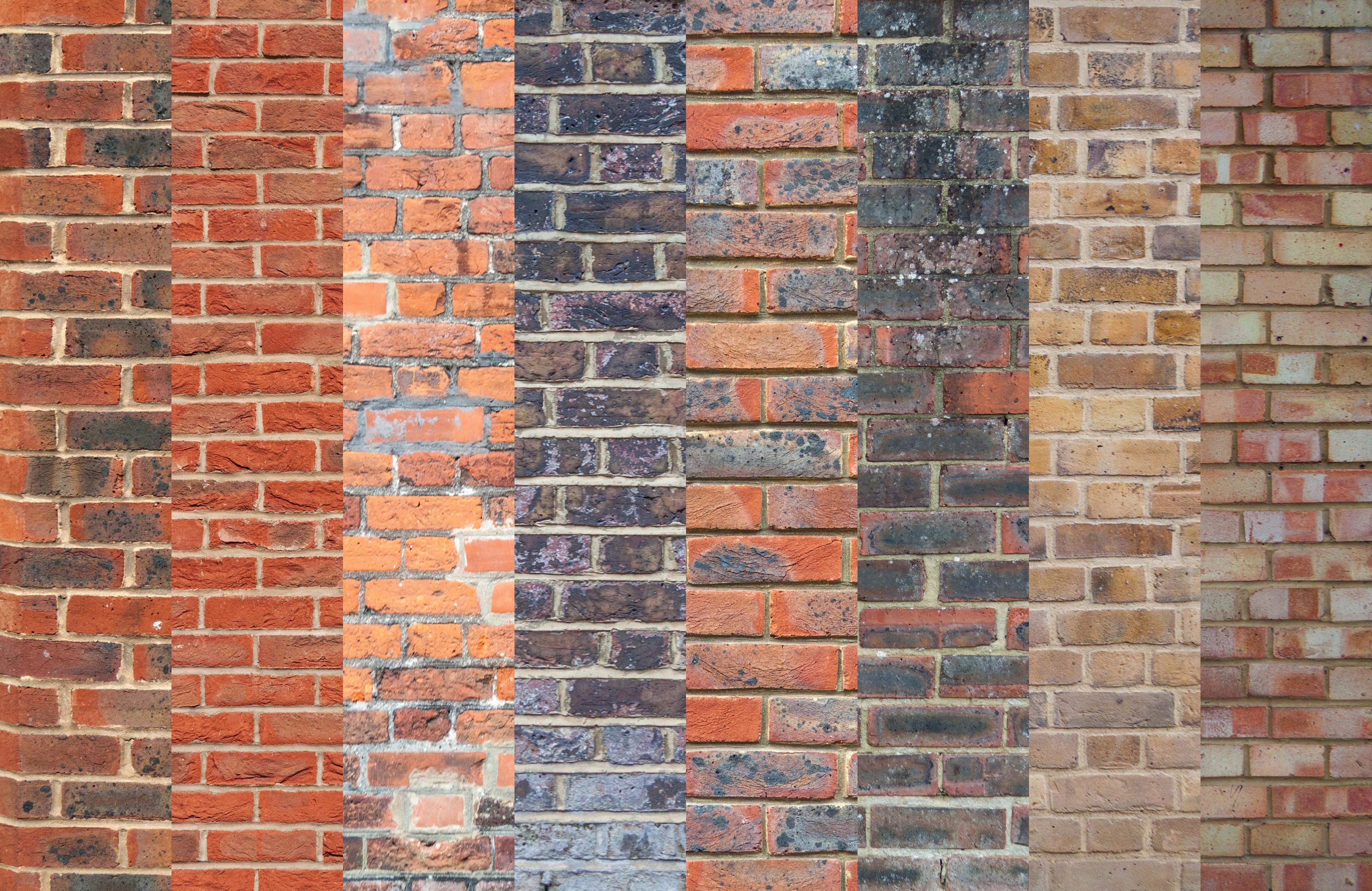Brick Wall Textures Vol.1 | GraphicBurger
