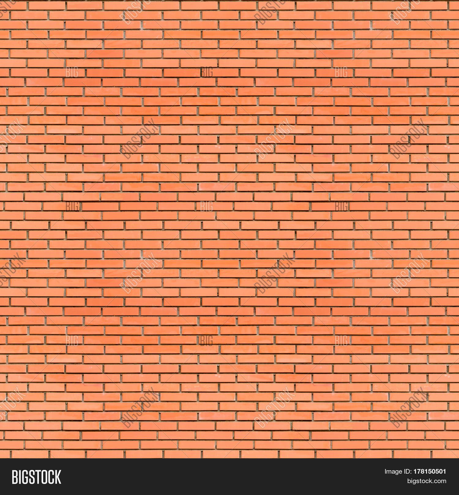 Red Bricks Wall Seamless Texture - Image & Photo | Bigstock