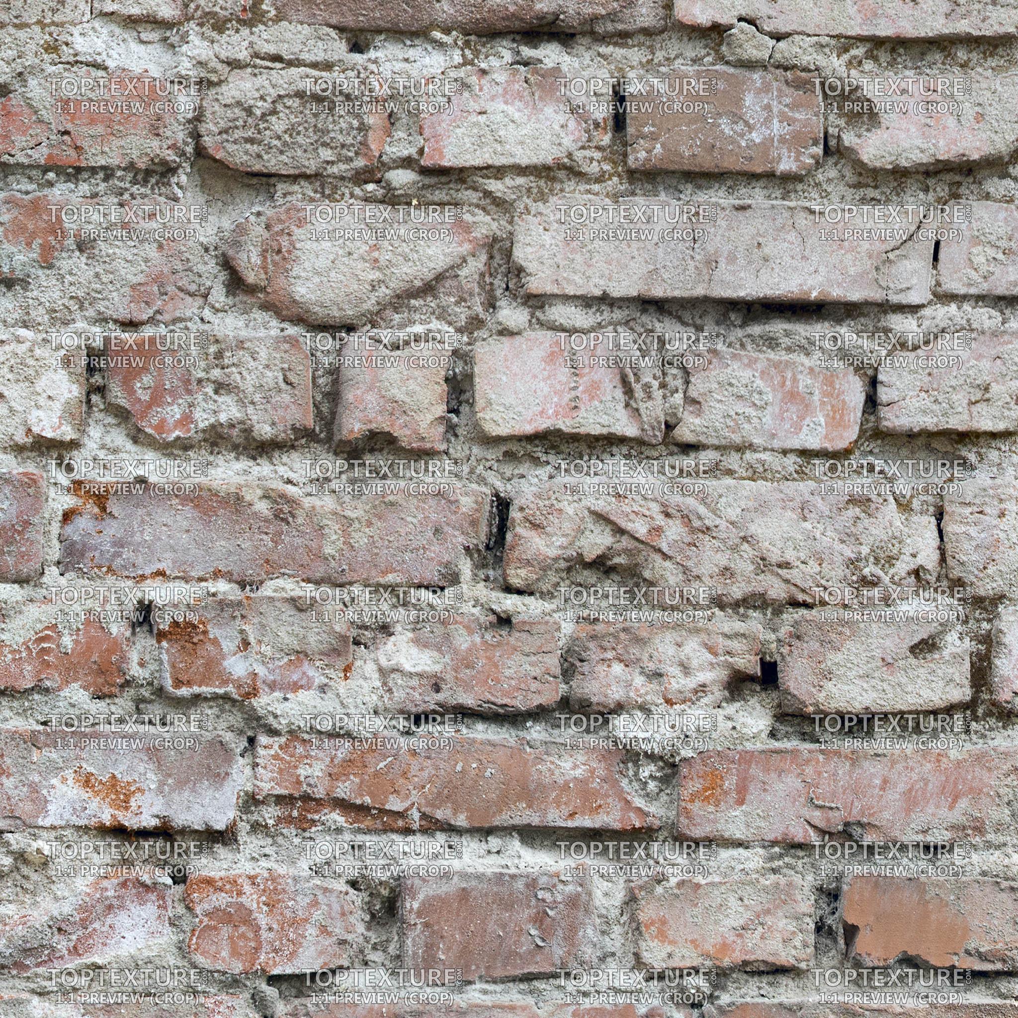 Brick Walls Heavy Dirt - Top Texture