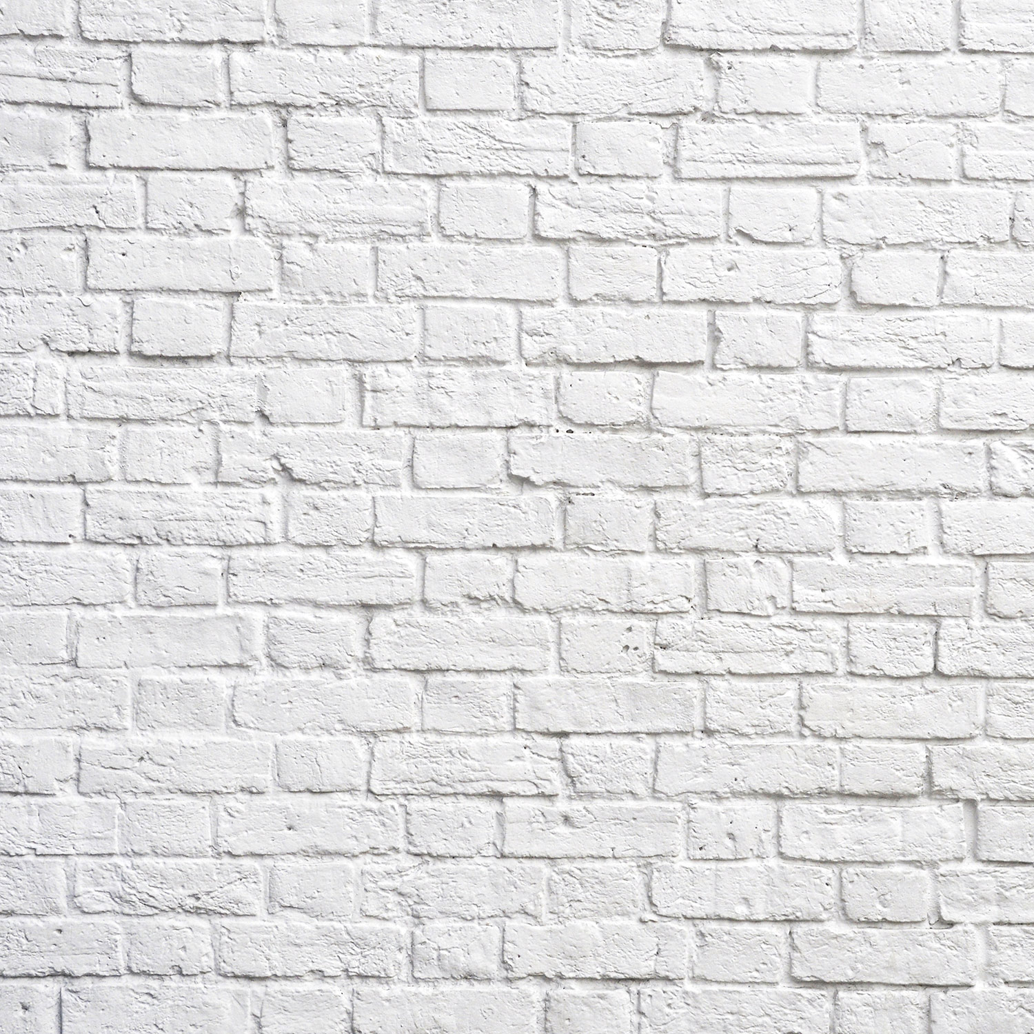 White Brick Wall Wallpaper | Wall Decor