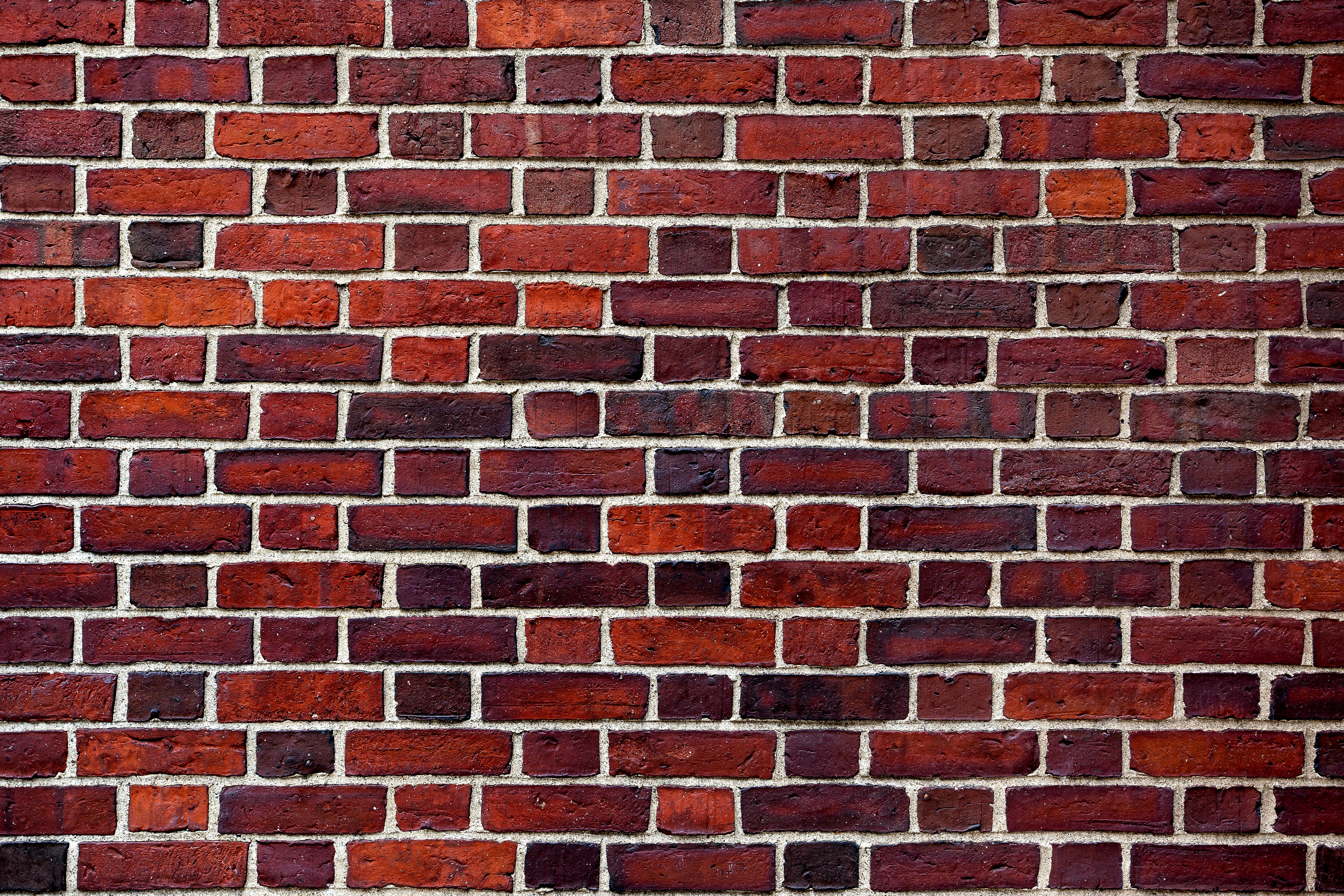 The old red brick wall - Custom Wallpaper