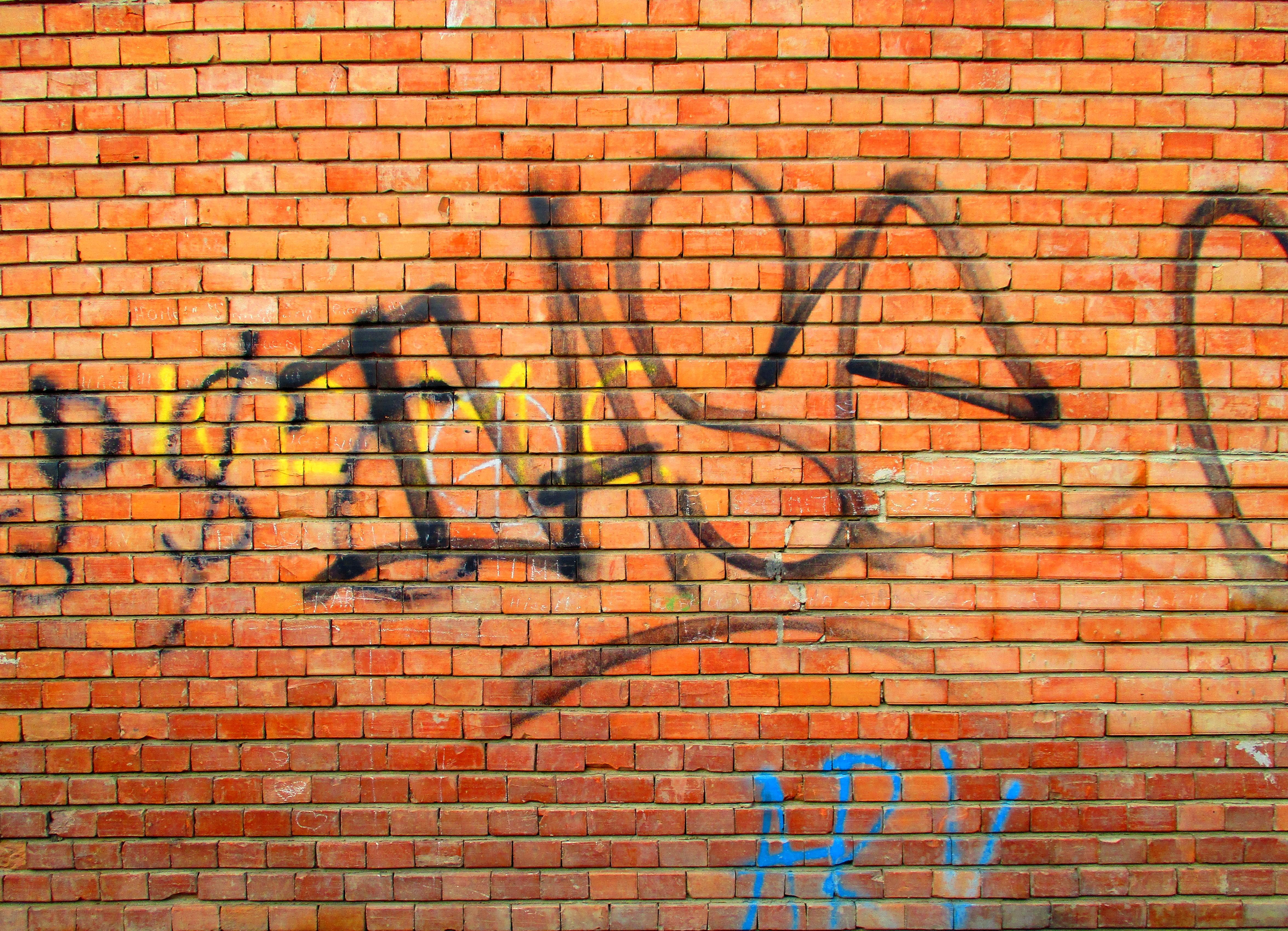 Graffiti Brick Wall Texture (JPG) | OnlyGFX.com