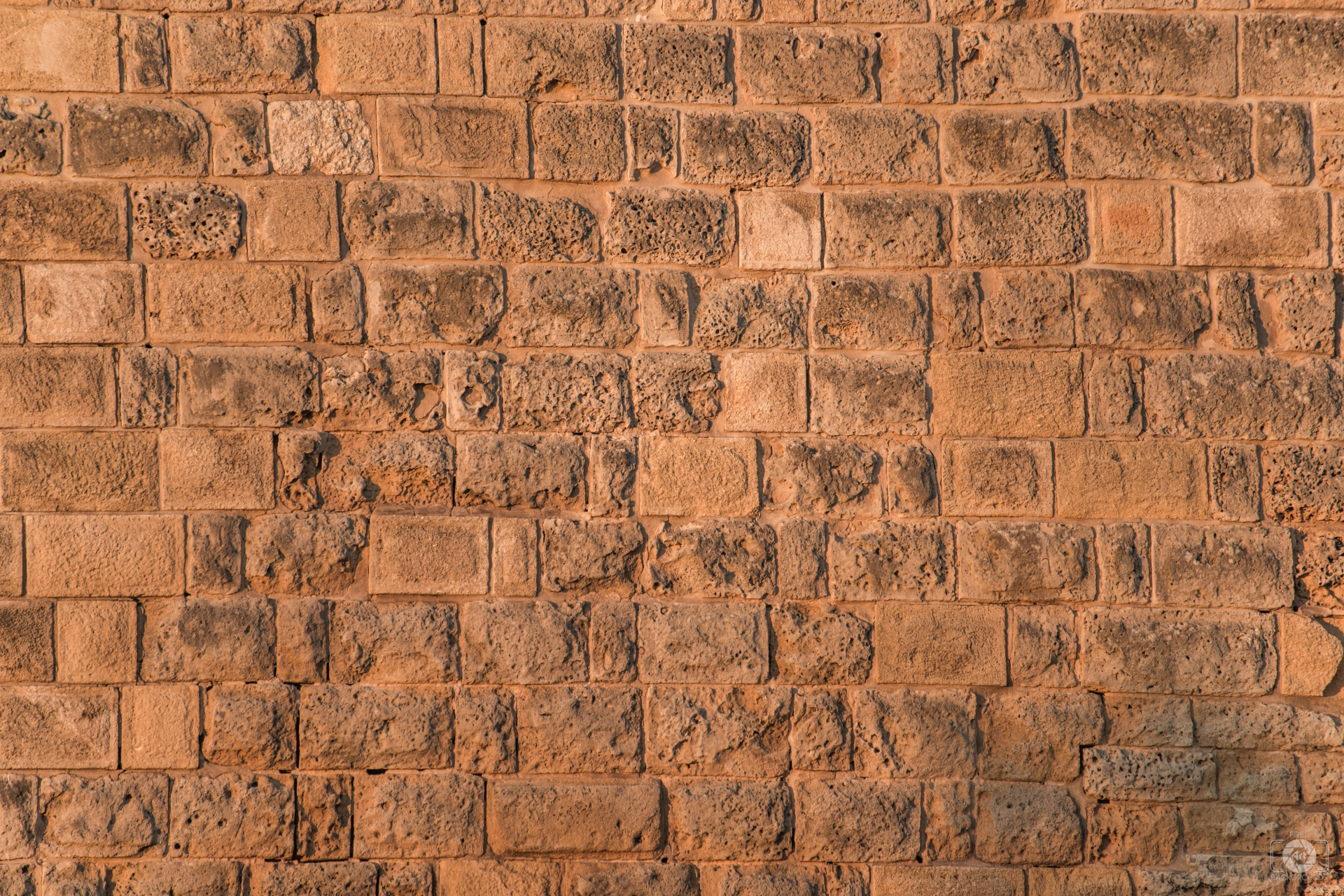 Old Stone Brick Wall Texture - High-quality Free Backgrounds