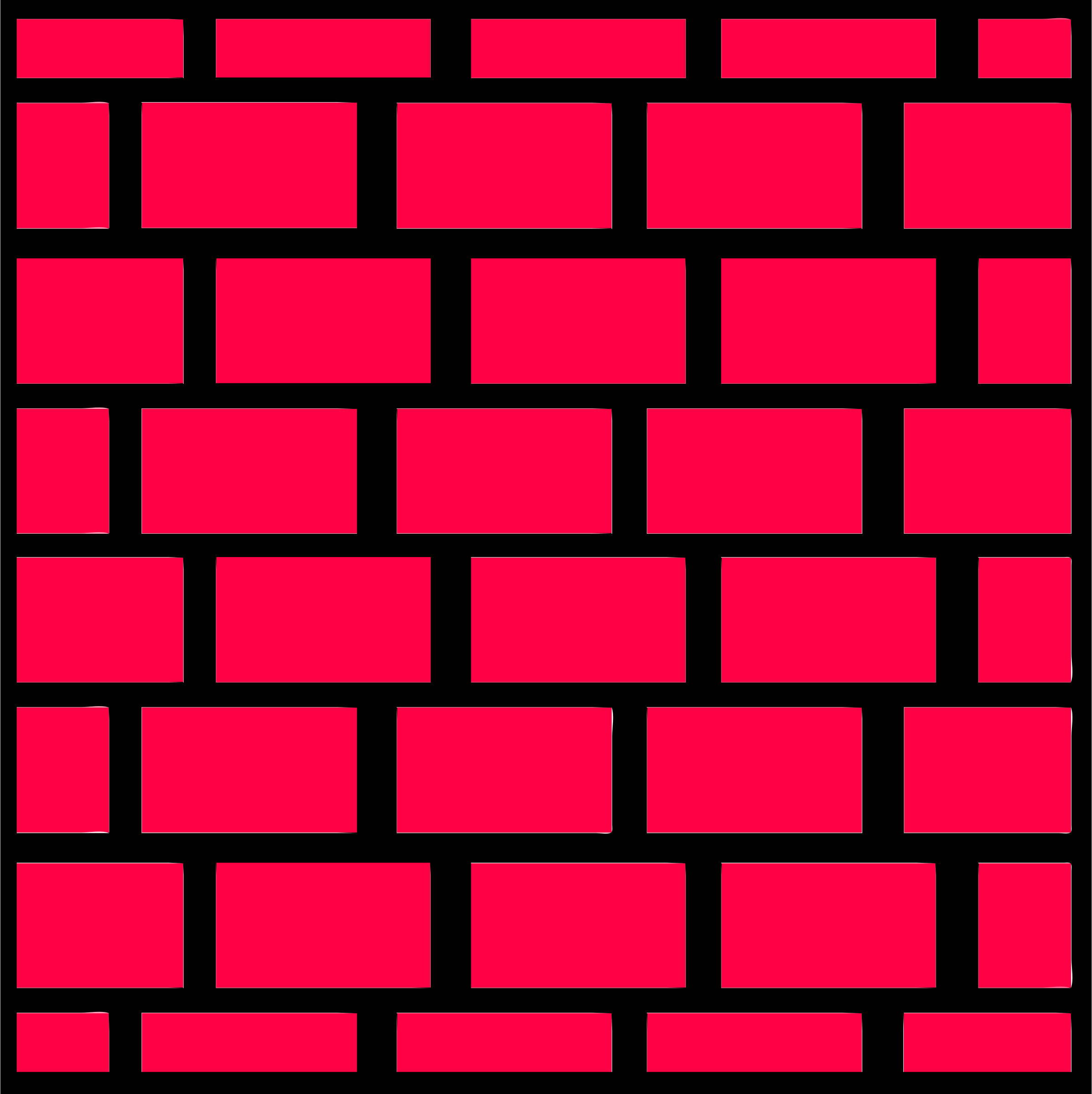 Clipart - Red brick wall