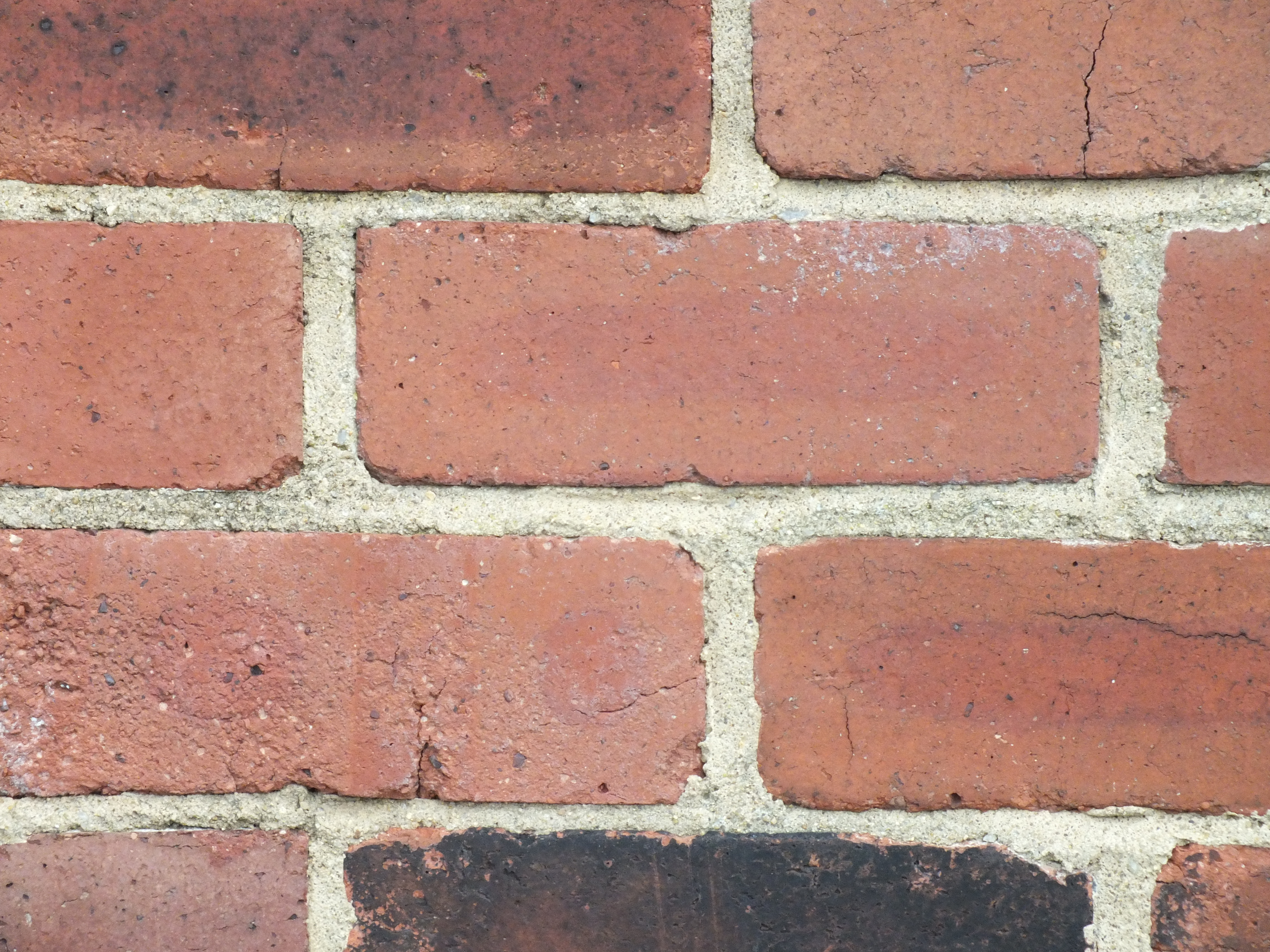 Brick Wall, Brick, Grunge, Red, Rough, HQ Photo