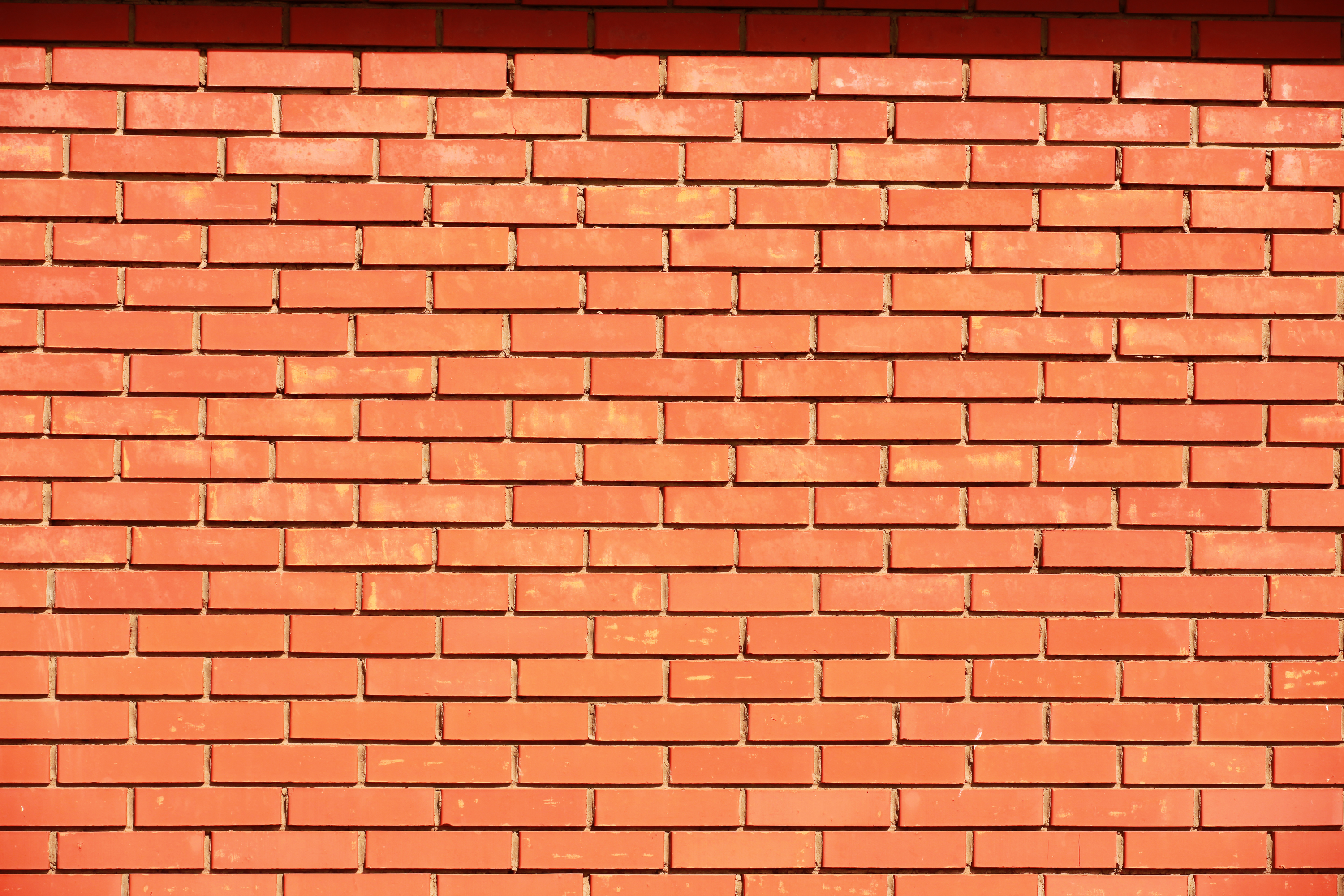 Brick wall, Aged, Pieces, Rectangle, Red, HQ Photo