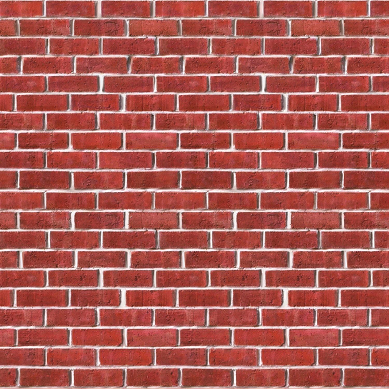 Amazon.com: Brick Wall Backdrop Party Accessory (1 count) (1/Pkg ...