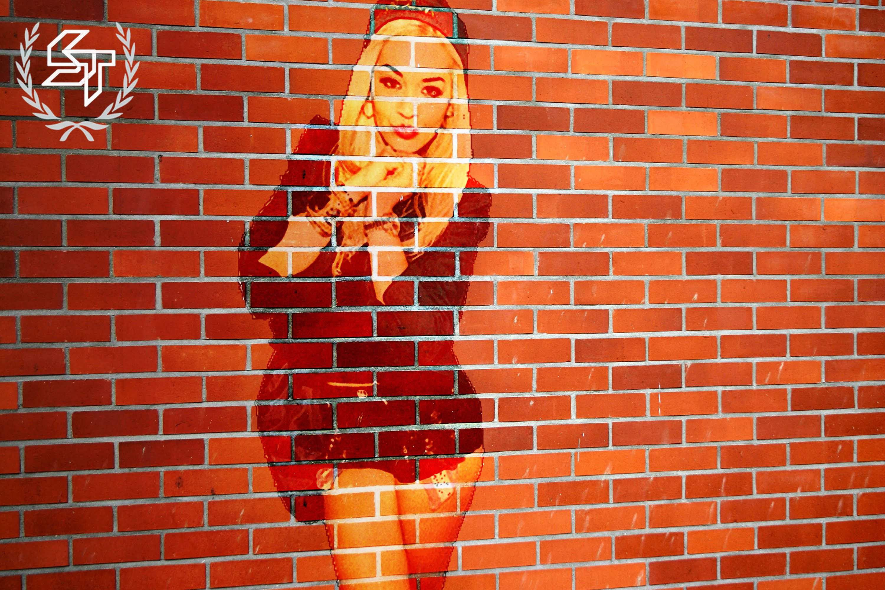 Create a Brick Wall Portrait in Photoshop - YouTube