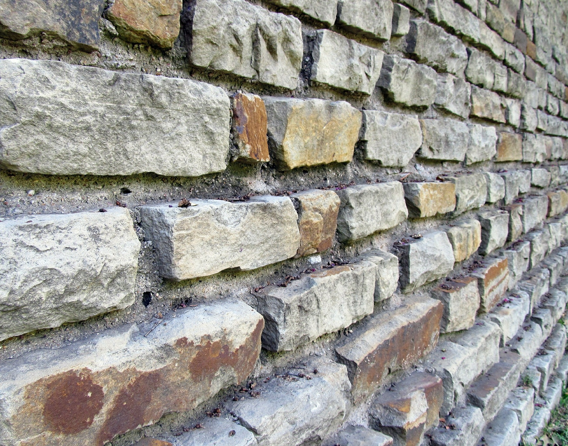 Brick Wall, Block, Brick, Construction, Texture, HQ Photo