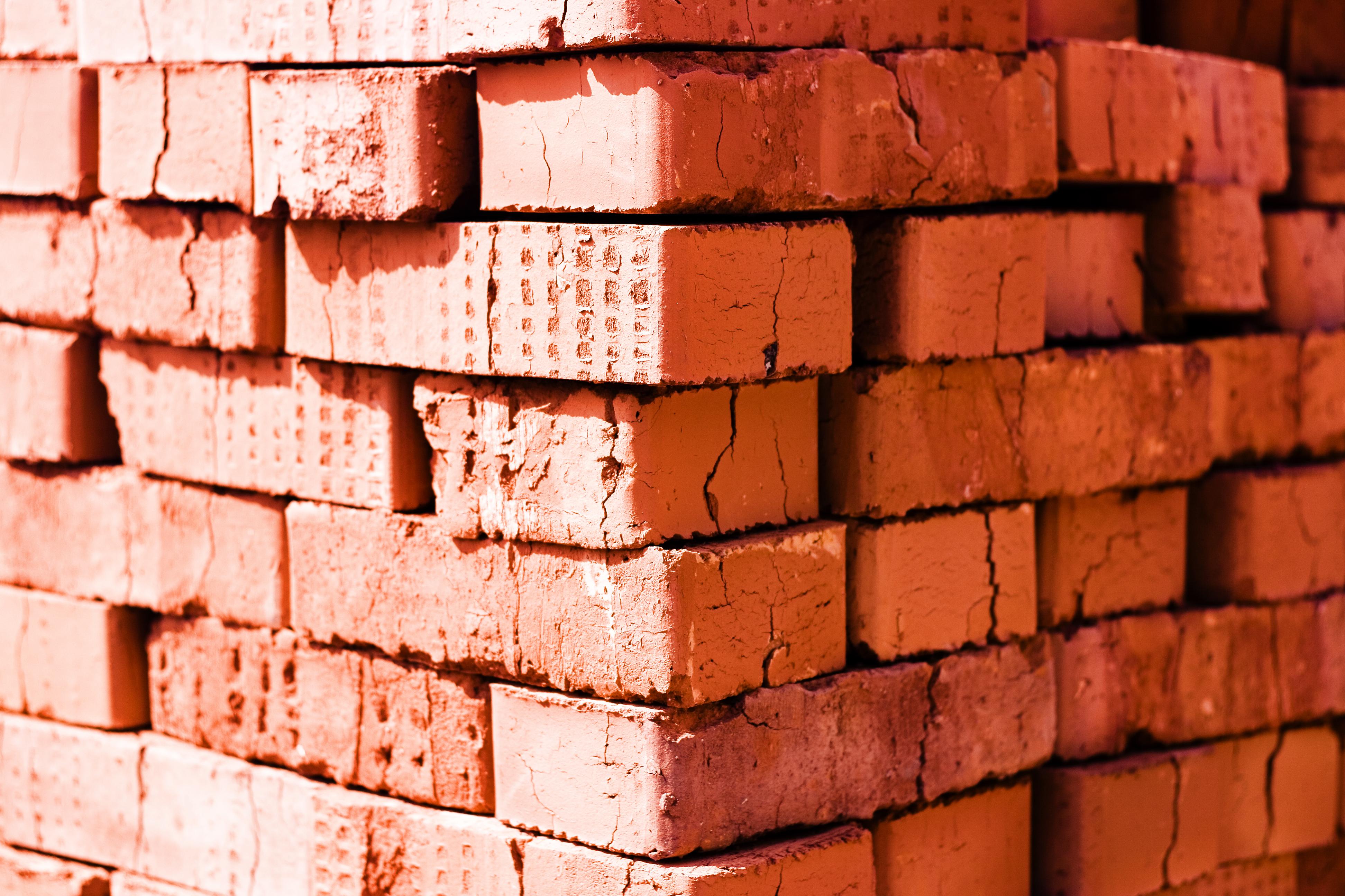 bricks, Backgrounds, Blocks, Blotch, Brickwall, HQ Photo