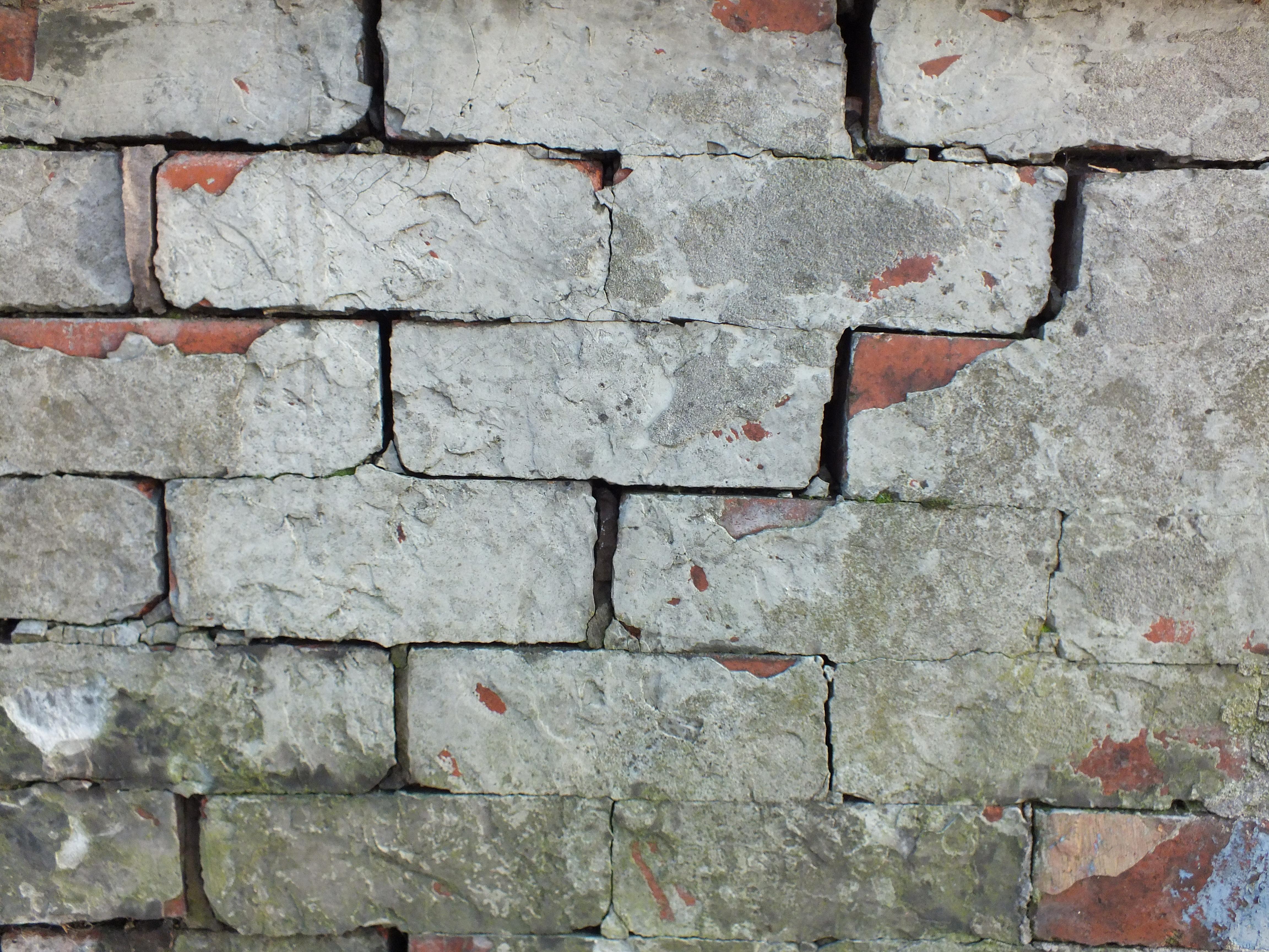 Bricks, Concrete, Grunge, Stone, Texture, HQ Photo