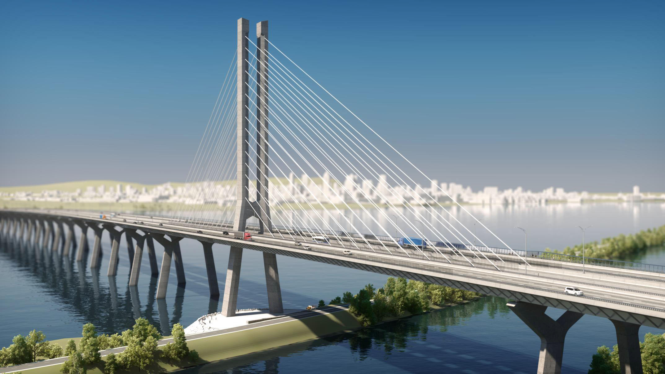 The Continuing Saga Of Montreal's New Champlain Bridge Construction ...