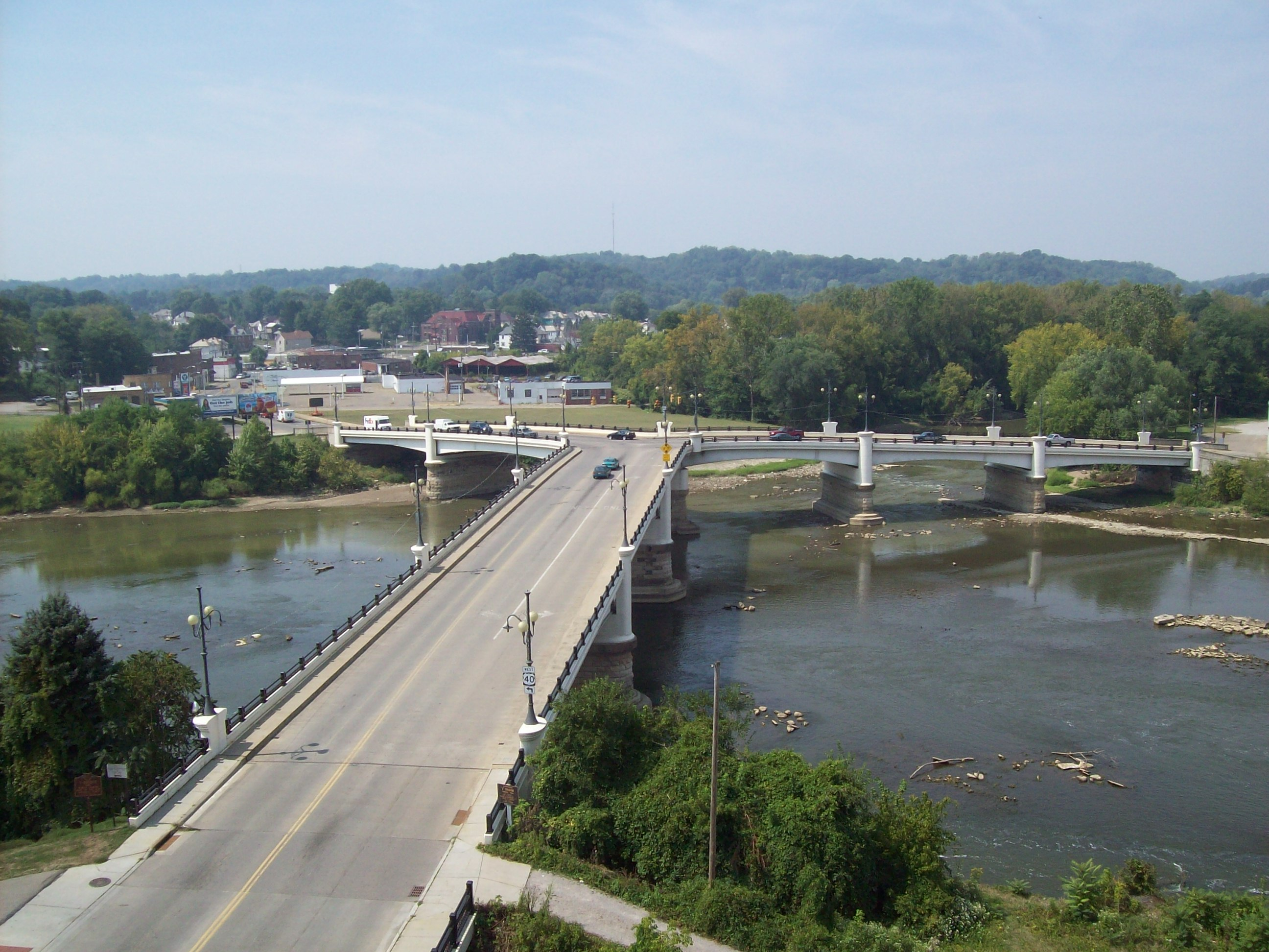 Y-Bridge of Muskingum County, Ohio