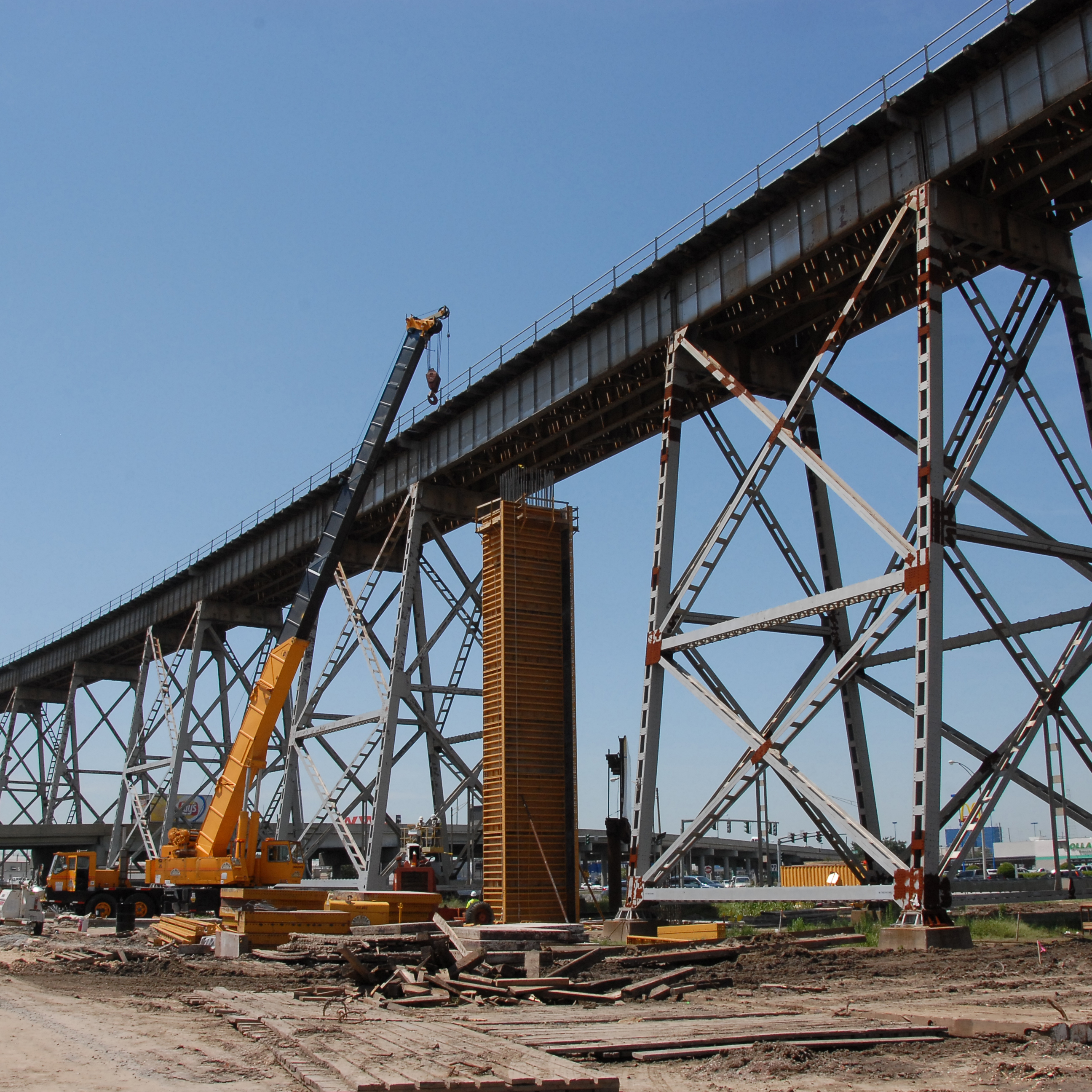 Seabrook Railroad Bridge - Boh Bros Construction Co.
