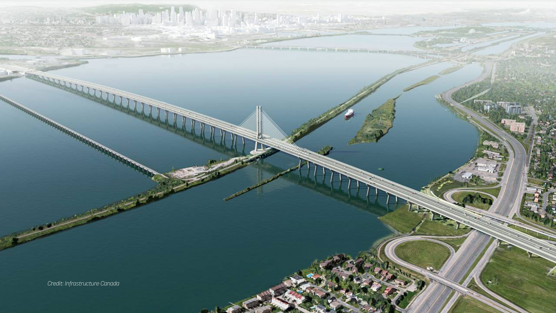 New Champlain Bridge Corridor Project: Design and Construction | SNC ...