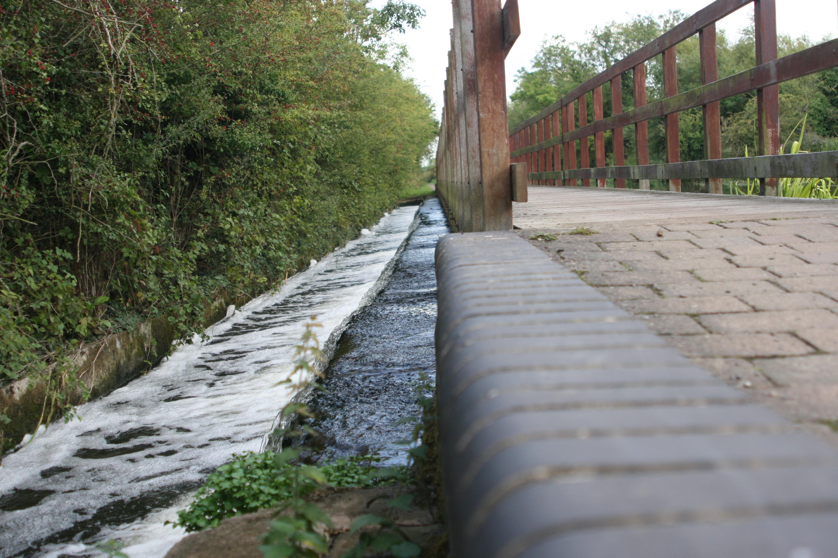 Bridge, Flow, Path, Rails, Stone, HQ Photo