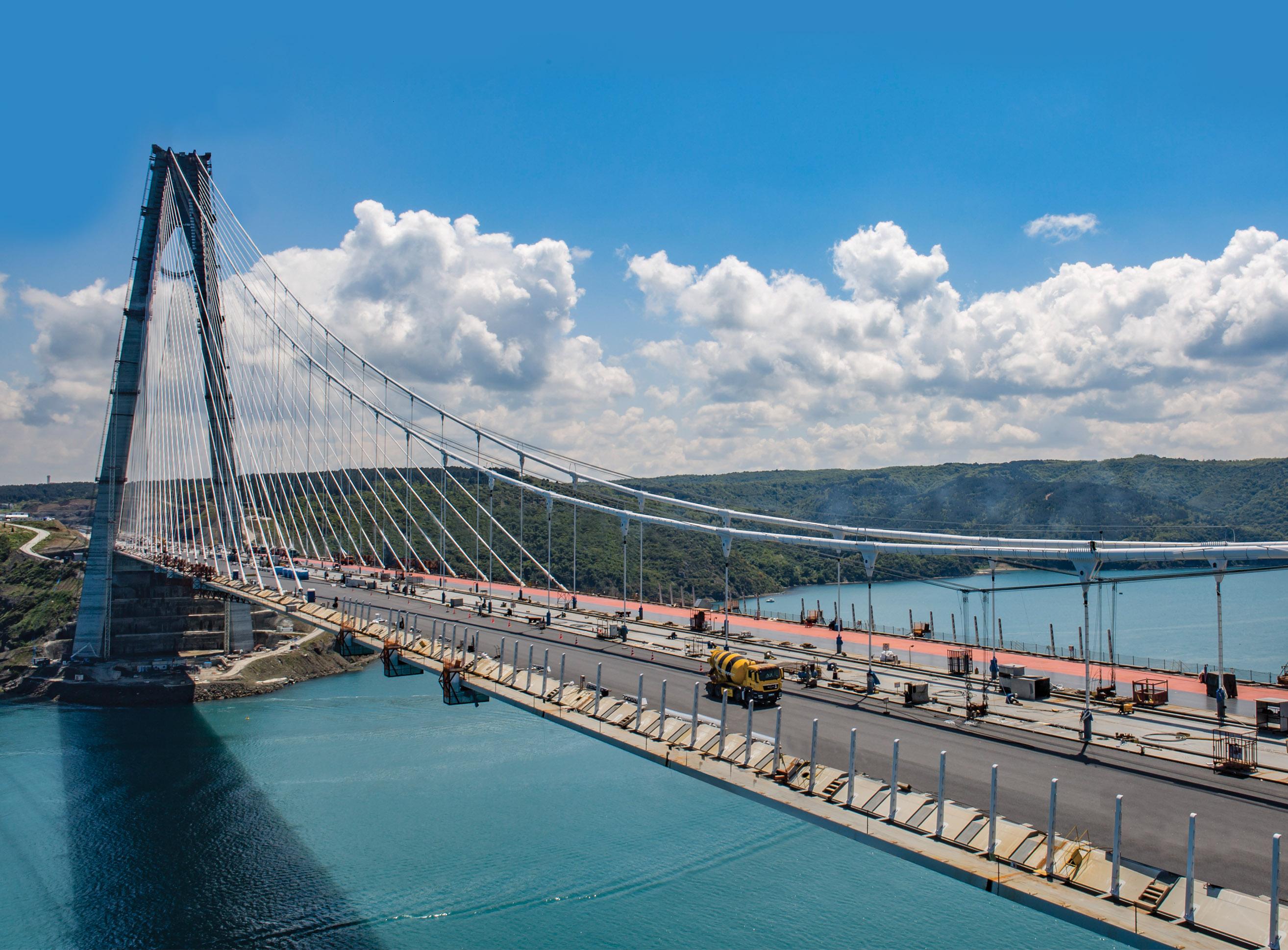 3rd Bosphorus Bridge, Turkey | HeidelbergCement Group