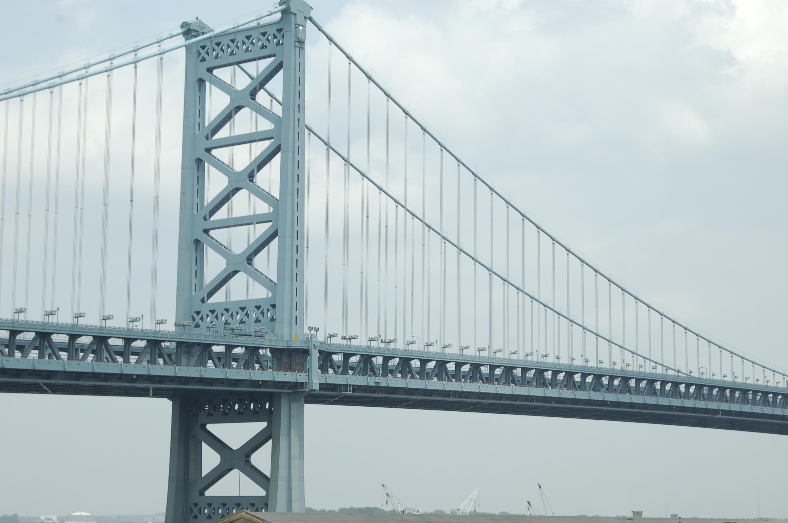 Bridge, Cables, Construction, Steel, Structure, HQ Photo