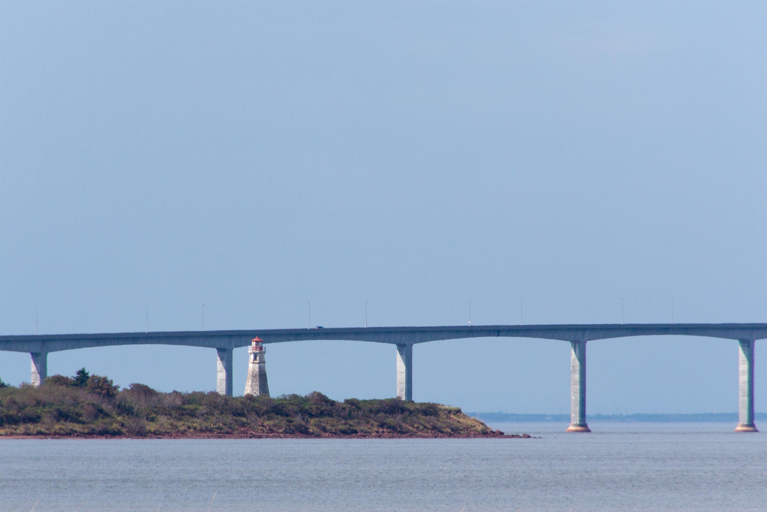 Bridge, PEI, Perspective, Pillars, Prince, HQ Photo