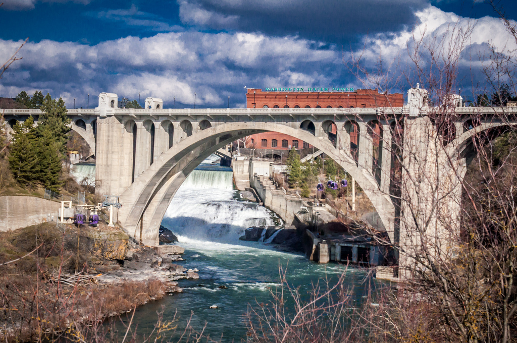 Bridge, Damn, Landscape, Nature, Structure, HQ Photo
