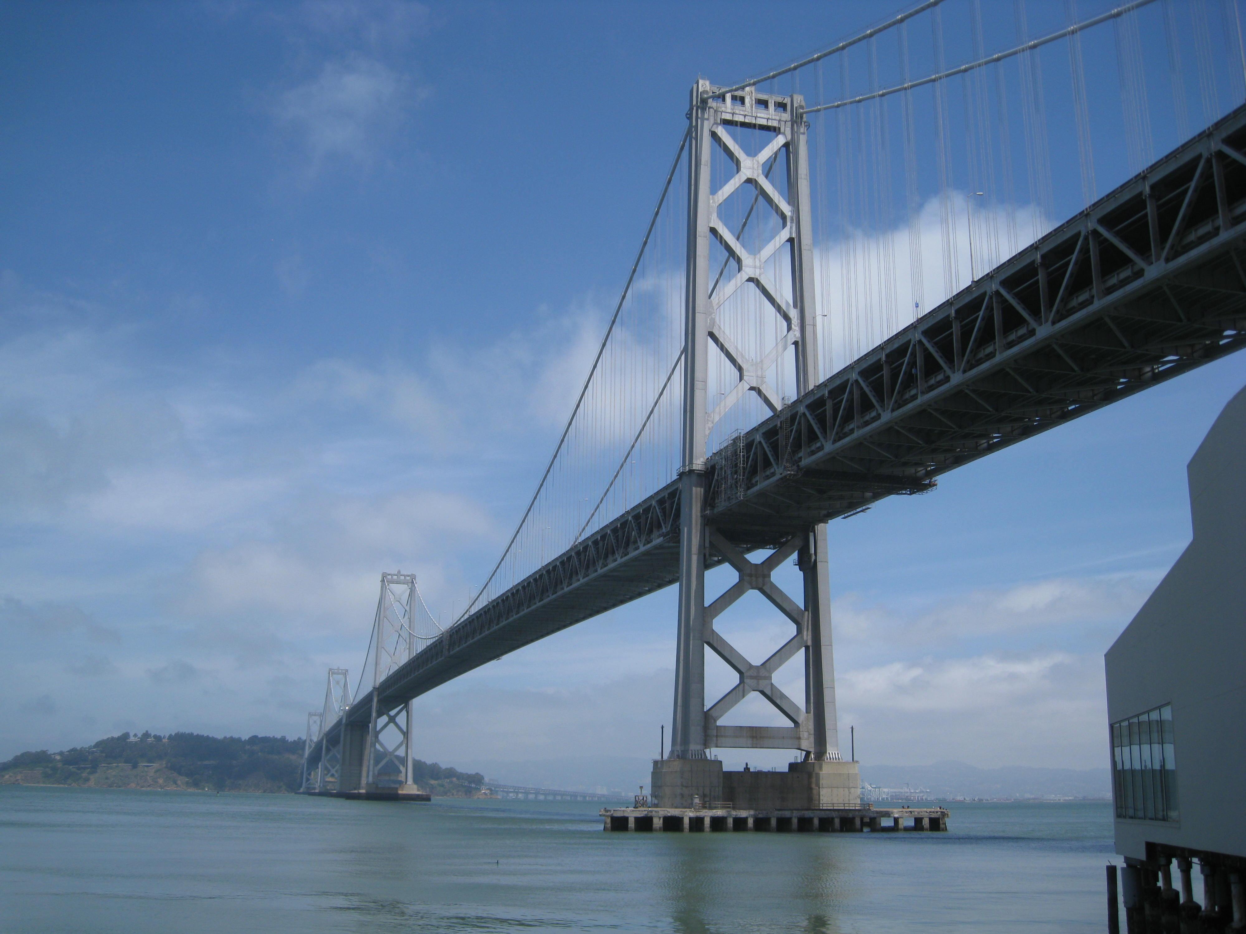 San Francisco-Oakland Bay Bridge - San Francisco CA and Oakland CA ...