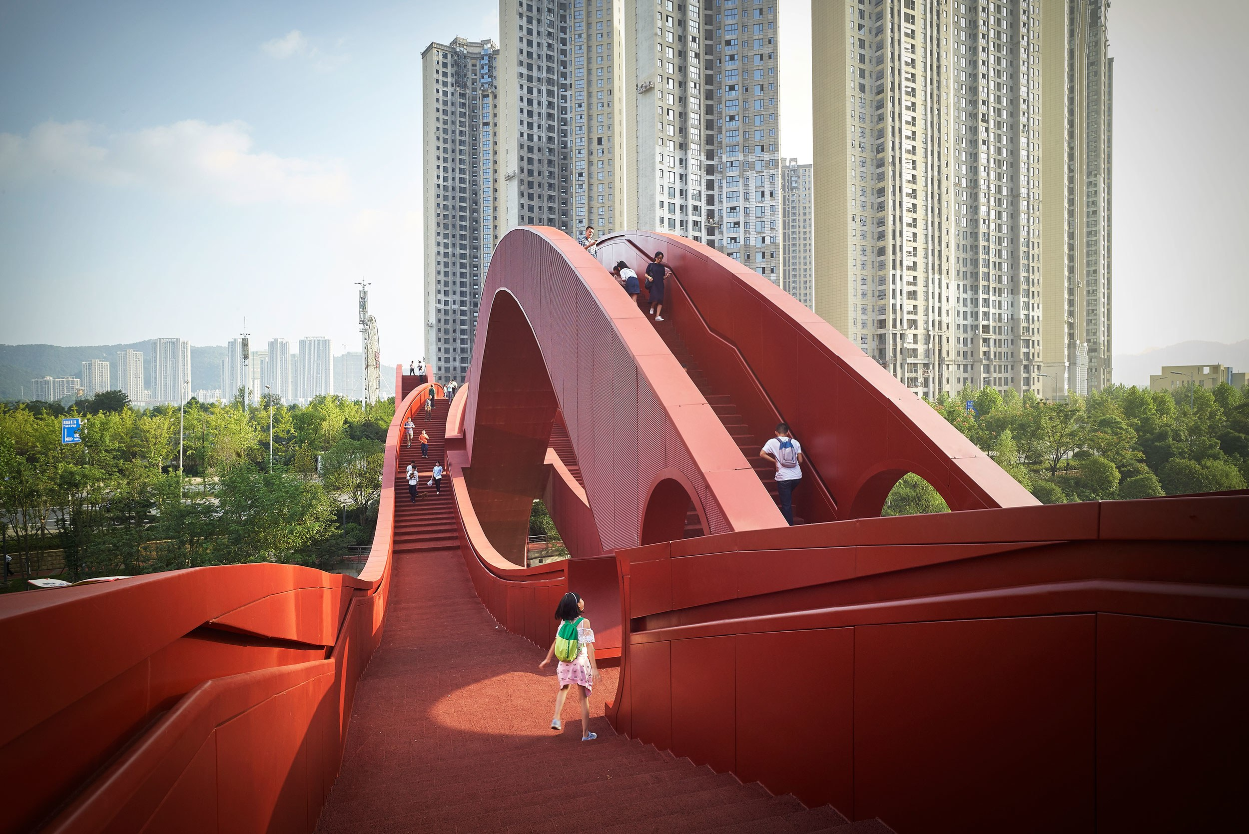 China's 'Lucky Knot' Bridge Has No Beginning and No End | WIRED