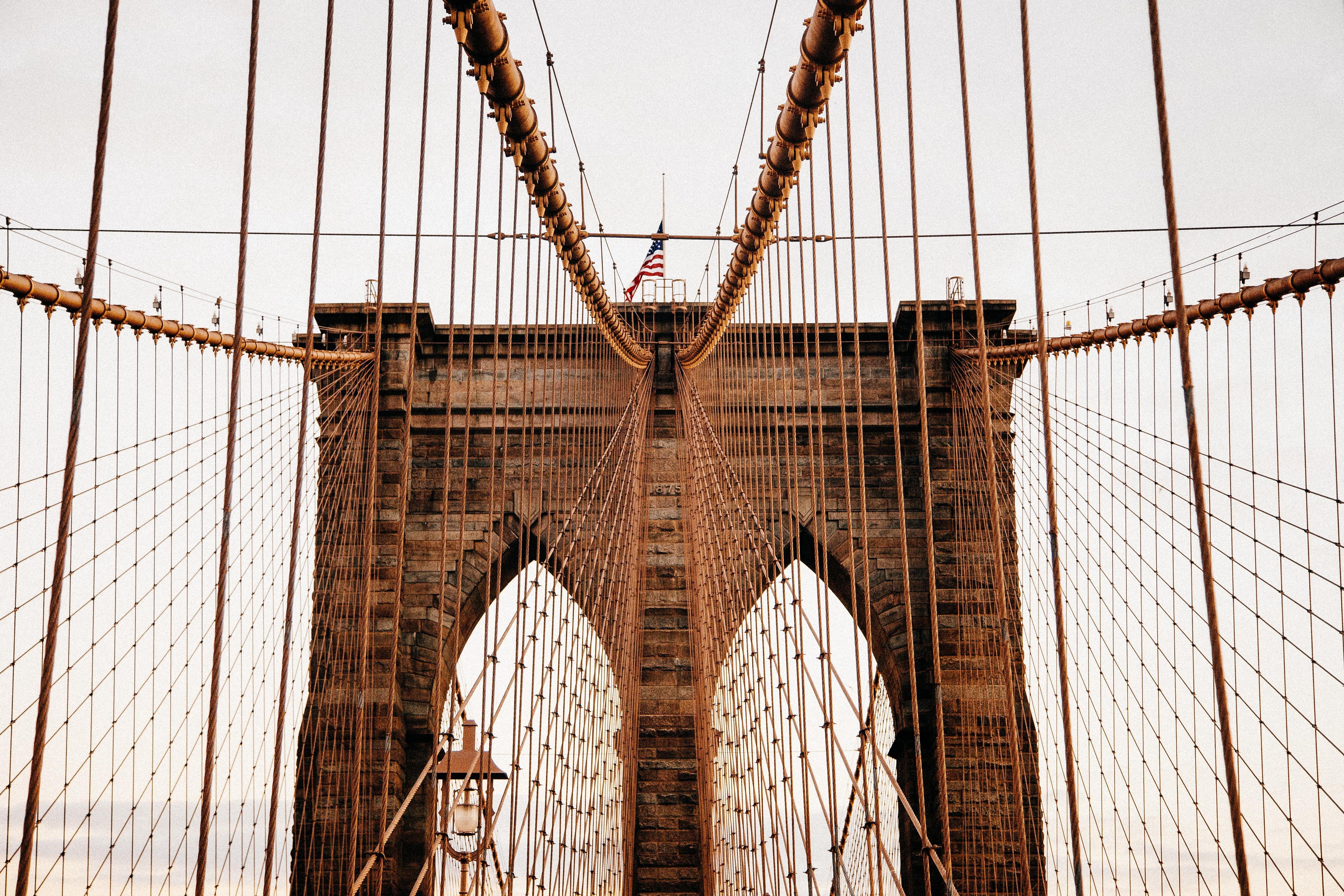 Bridge in America, America, Bridge, Construction, Support, HQ Photo