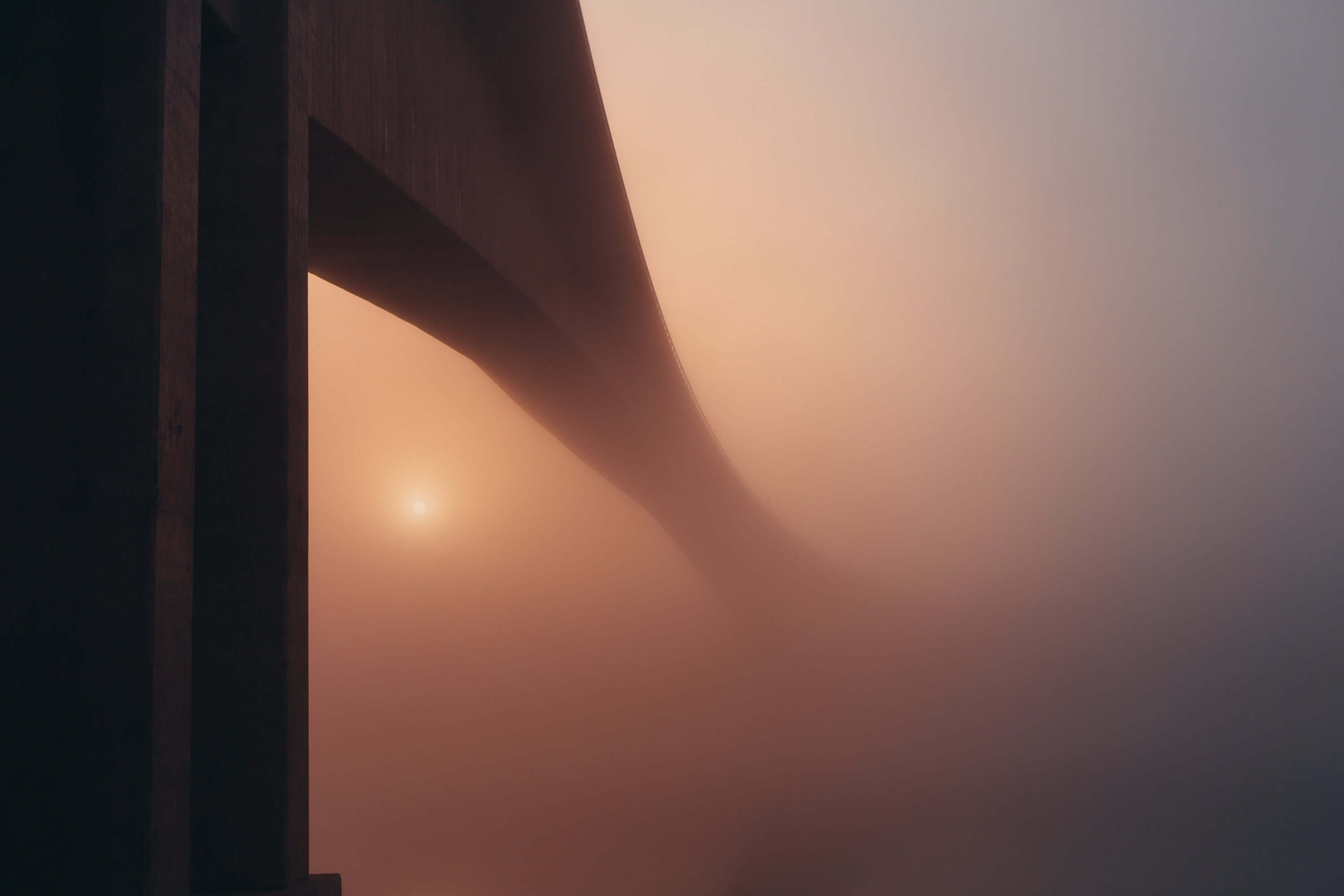 Bridge in the mist photo