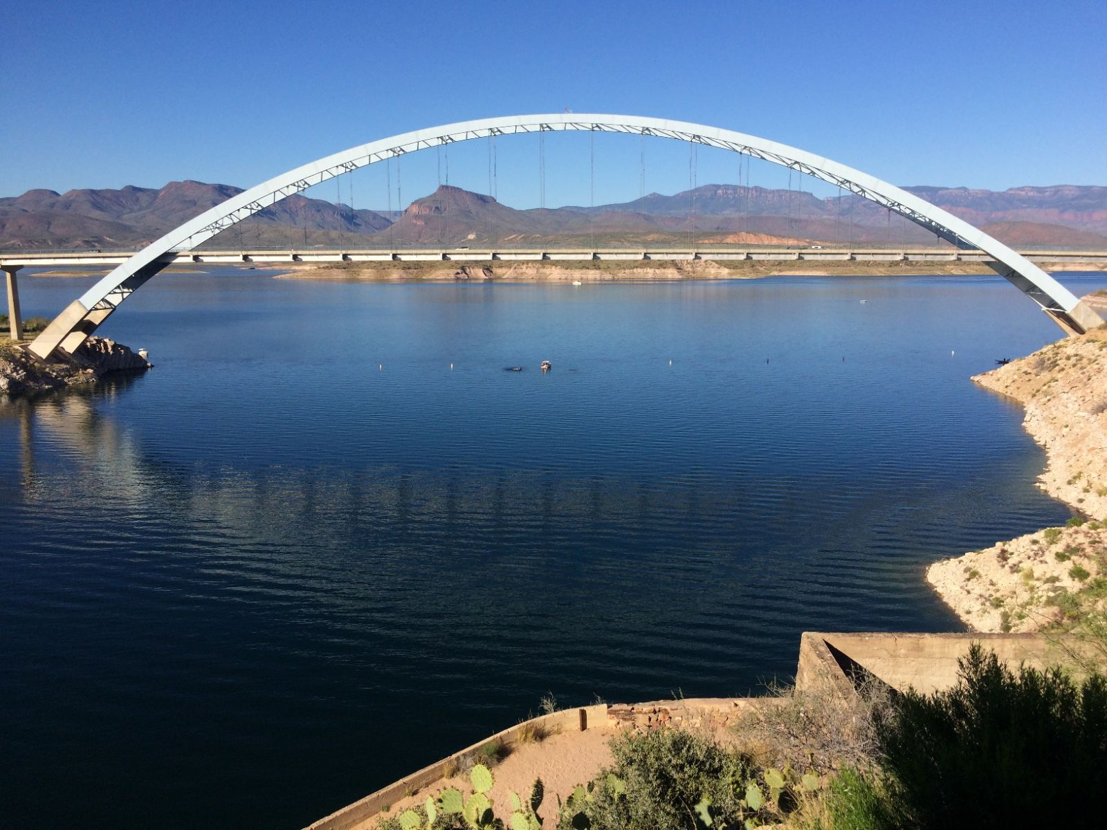 Bridgehunter.com | Roosevelt Lake Bridge