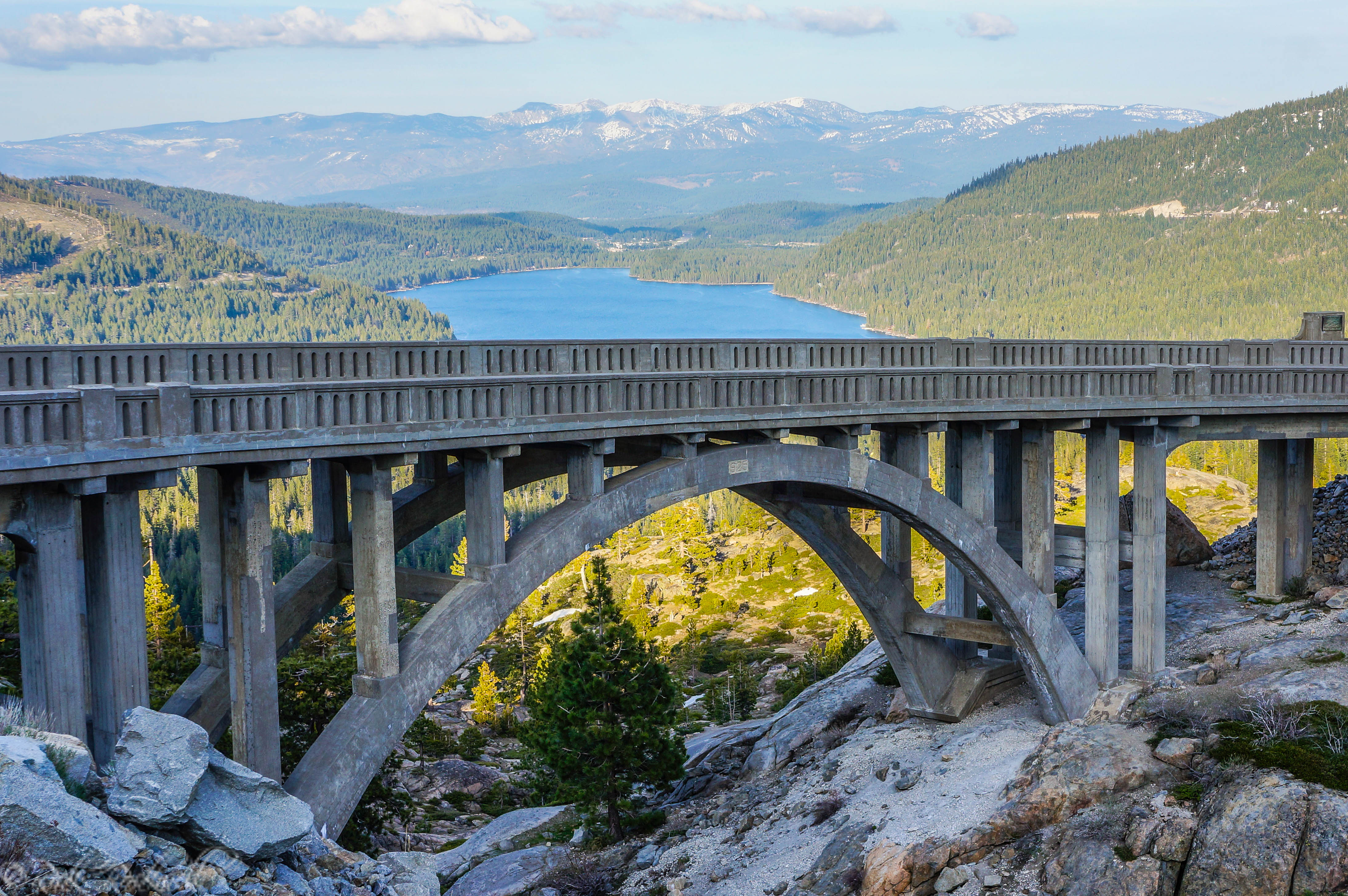 Donner Summit Bridge: California's historical Rainbow Bridge ...