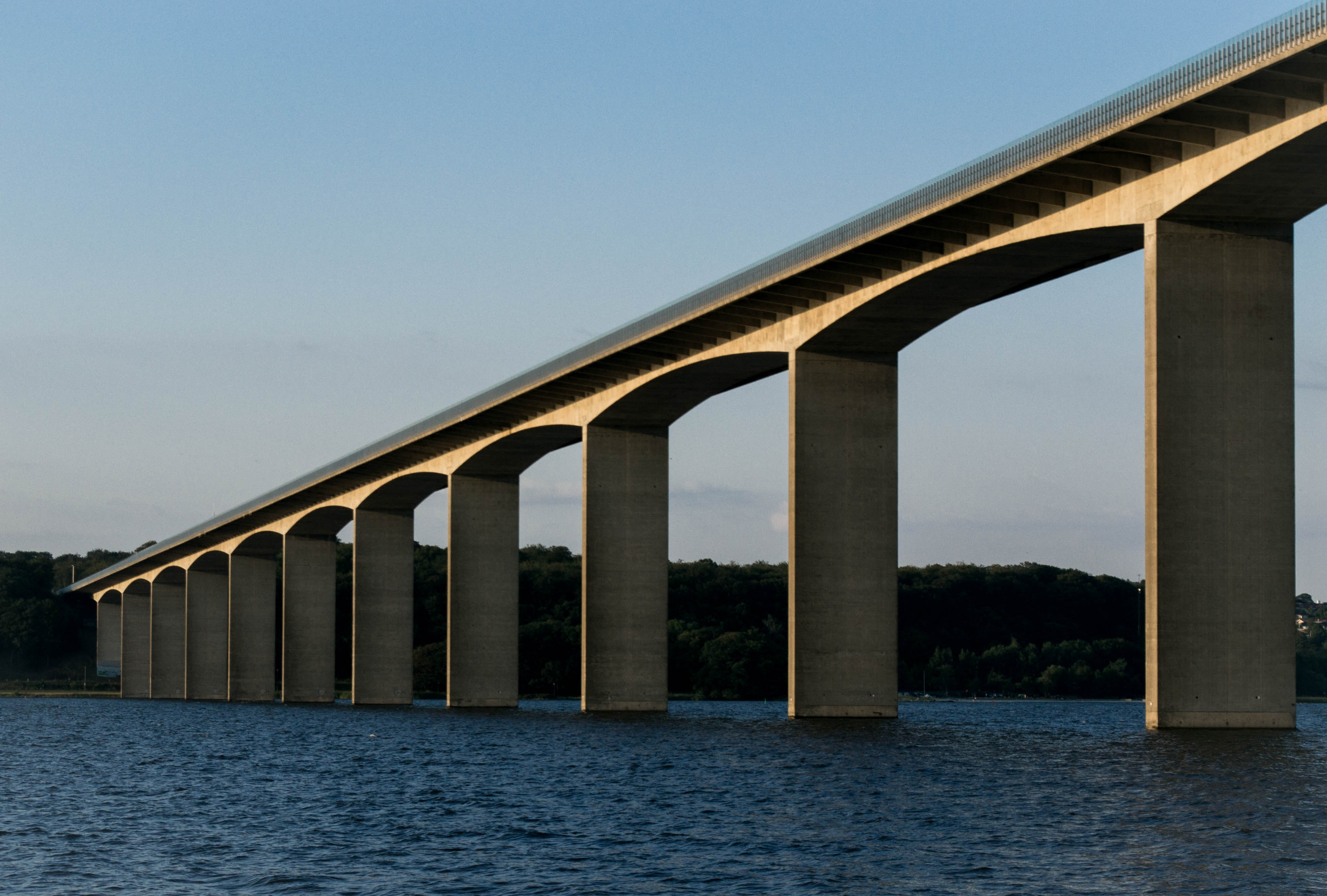 Bridge Near Lake, Architecture, Landscape, Travel, Transportation, HQ Photo