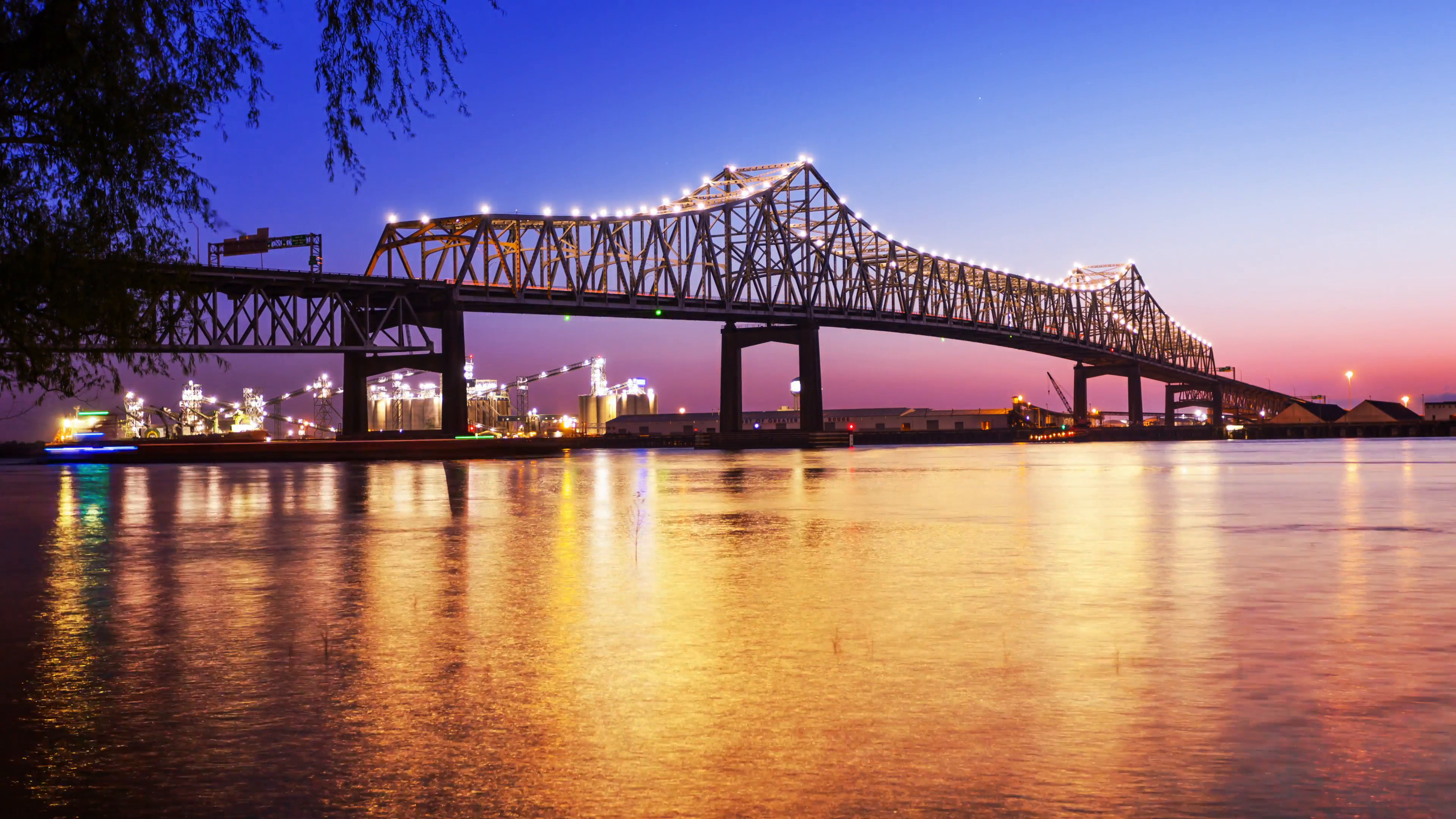 Bridge over night photo