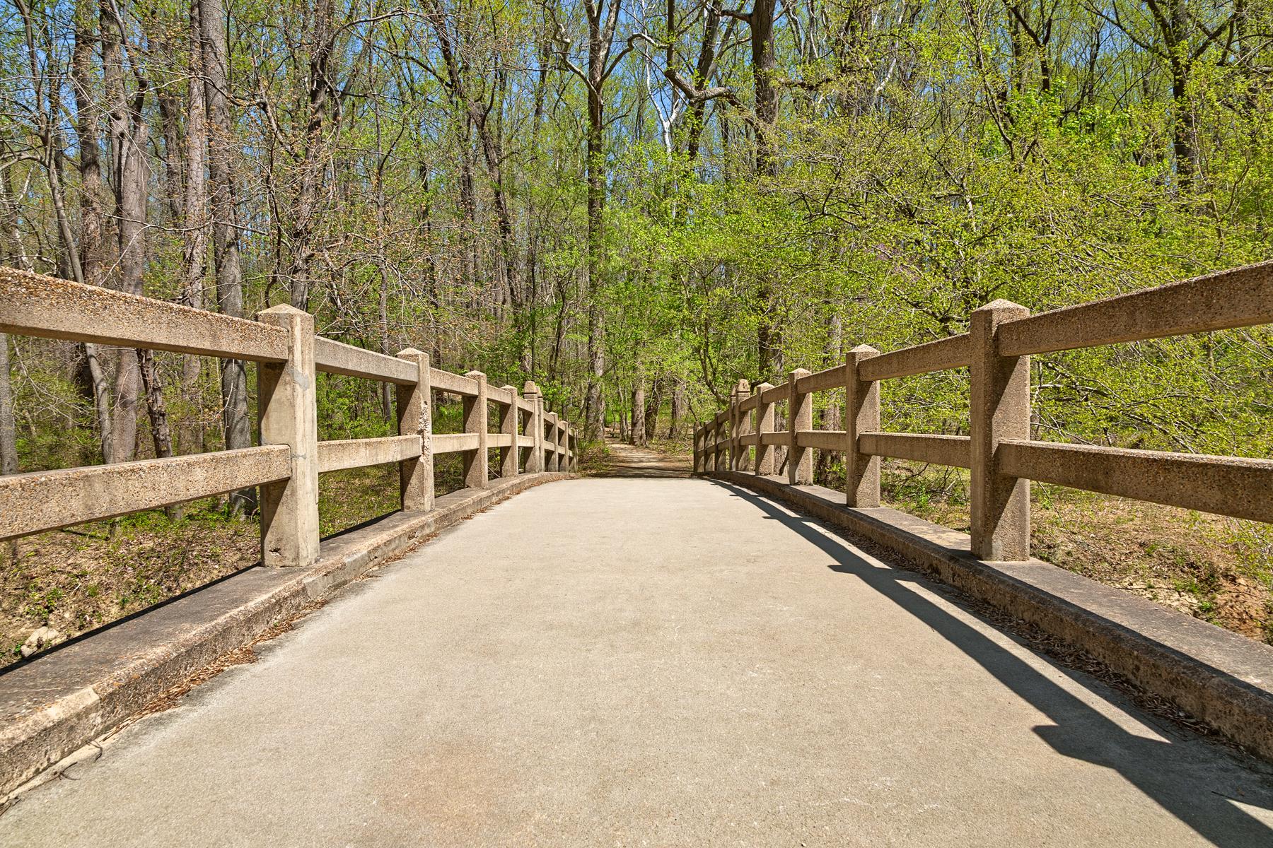 Bridge to Spring - HDR, America, Rock, Sky, Shadows, HQ Photo