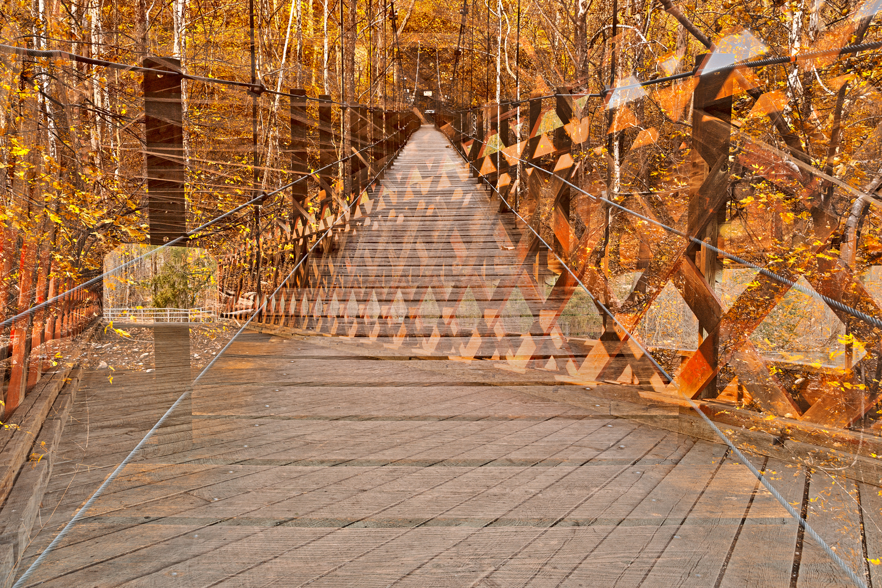 Bridging Perspectives, Abstract, Planks, Scene, Sauck, HQ Photo