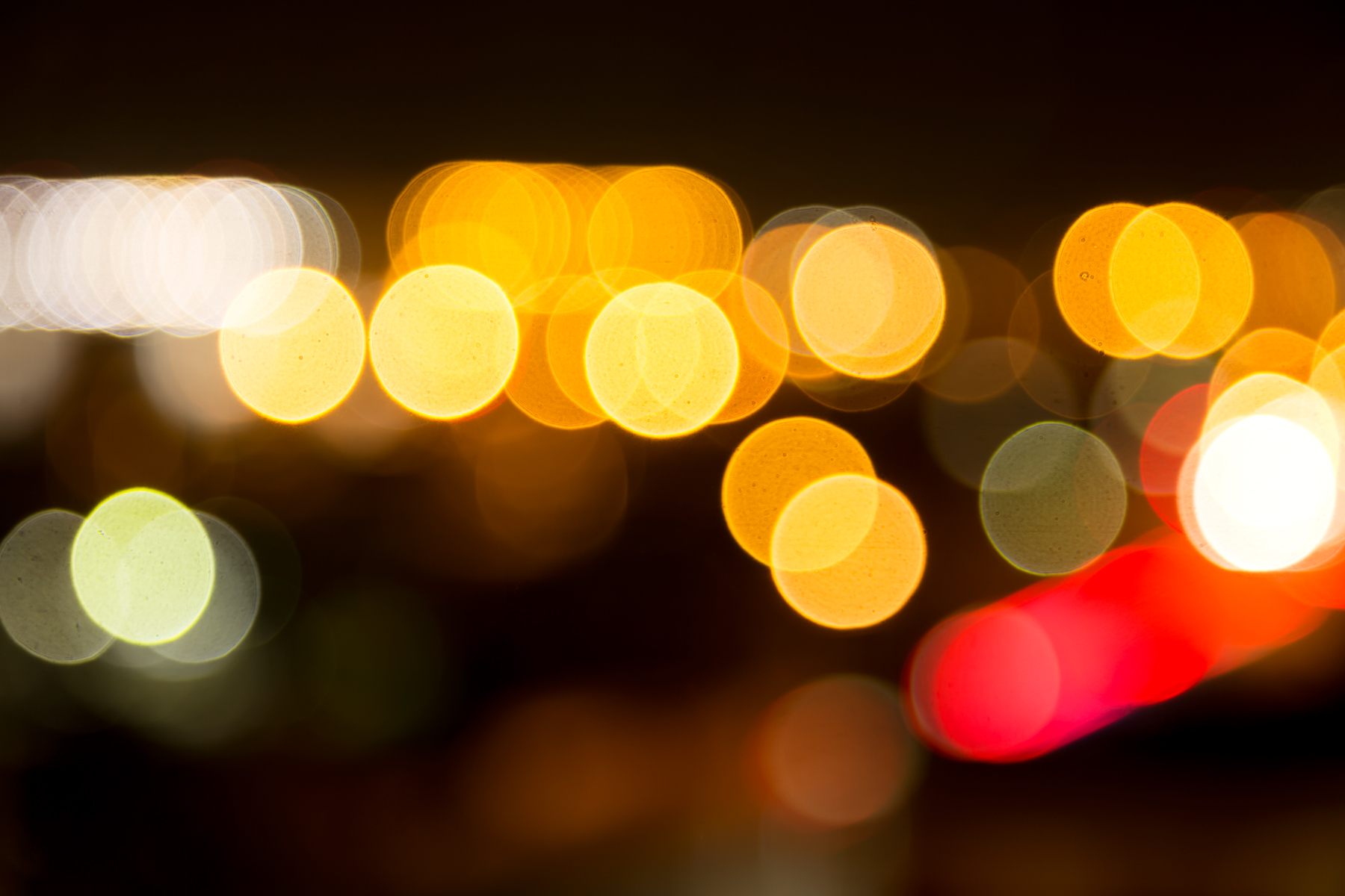 Bright Bokeh Background, Abstract, Specks, Orange, Photo, HQ Photo