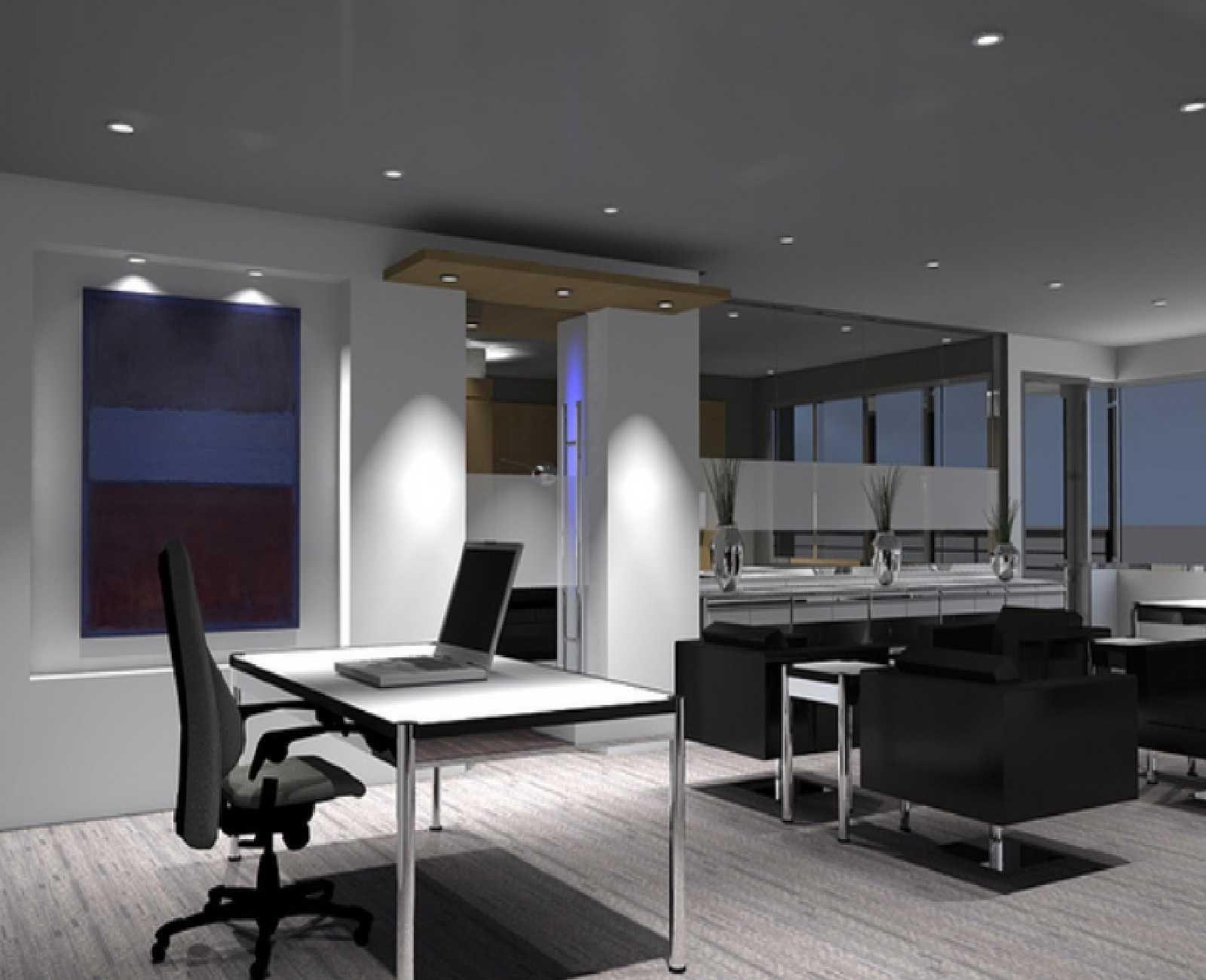 Home Office : Marvelous Bright White Office Design Idea Modern ...