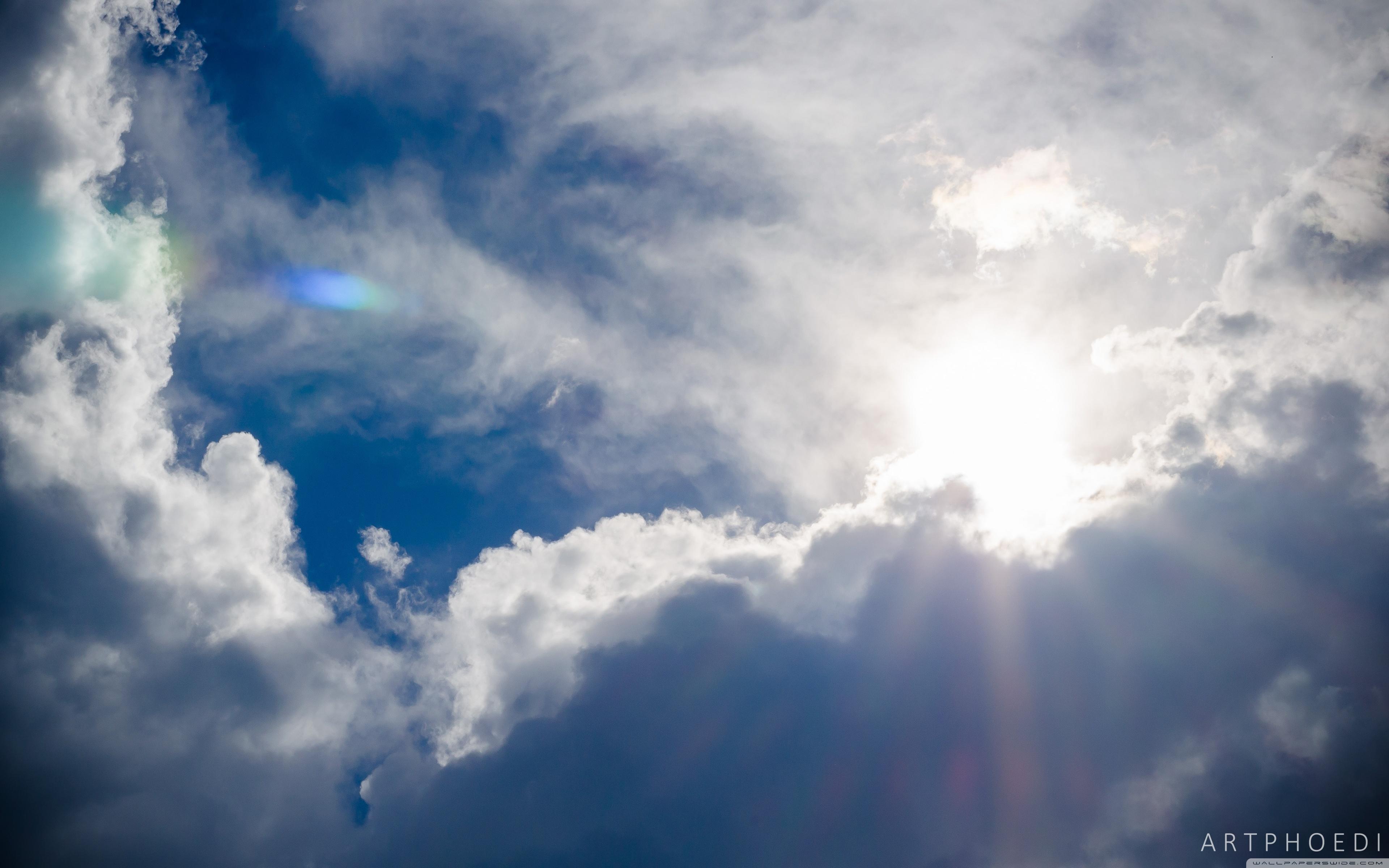 Bright Sky ❤ 4K HD Desktop Wallpaper for 4K Ultra HD TV • Wide ...