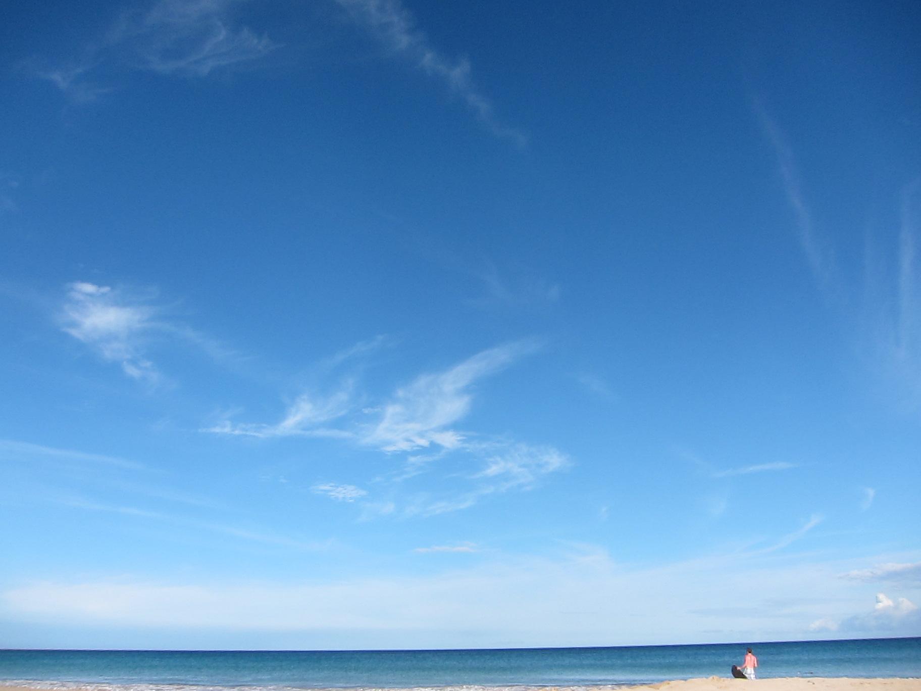 Bright sunshine from cloudy sky   Aloha! from Big Island