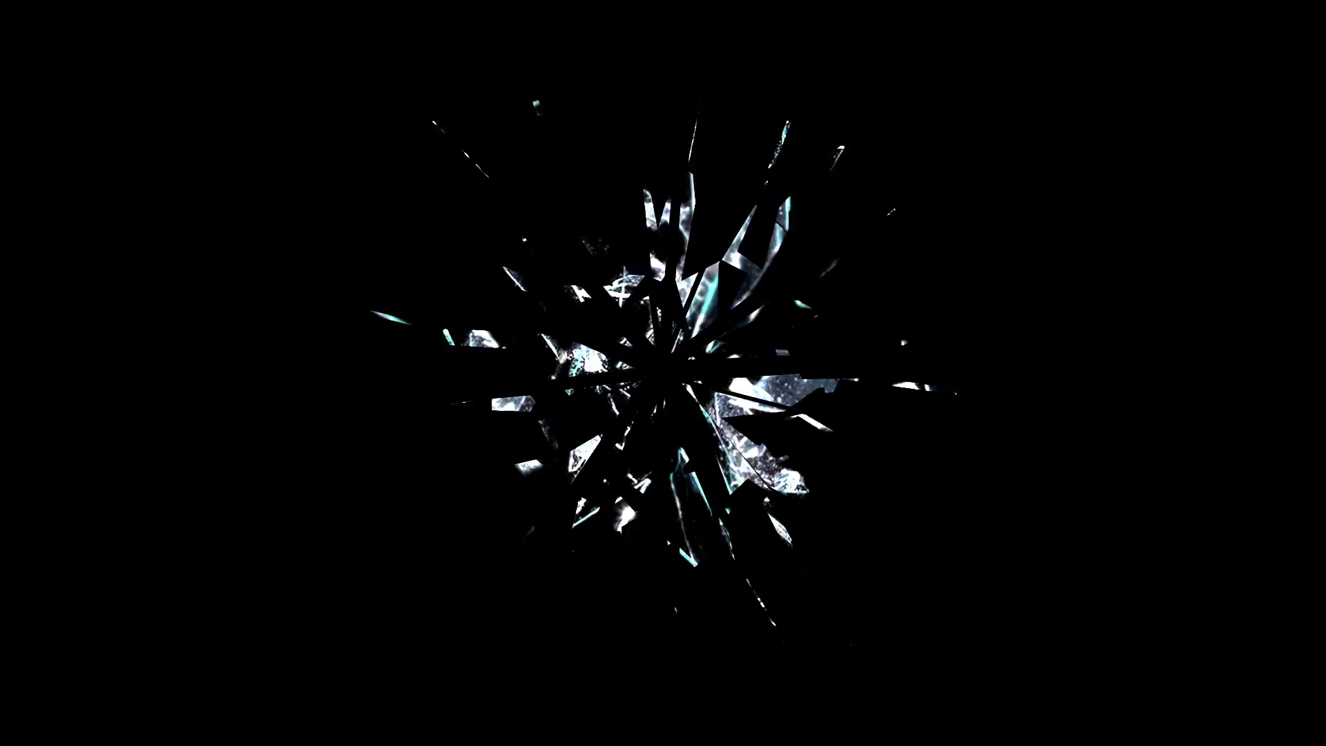Broken Glass Animation Motion Background - Videoblocks