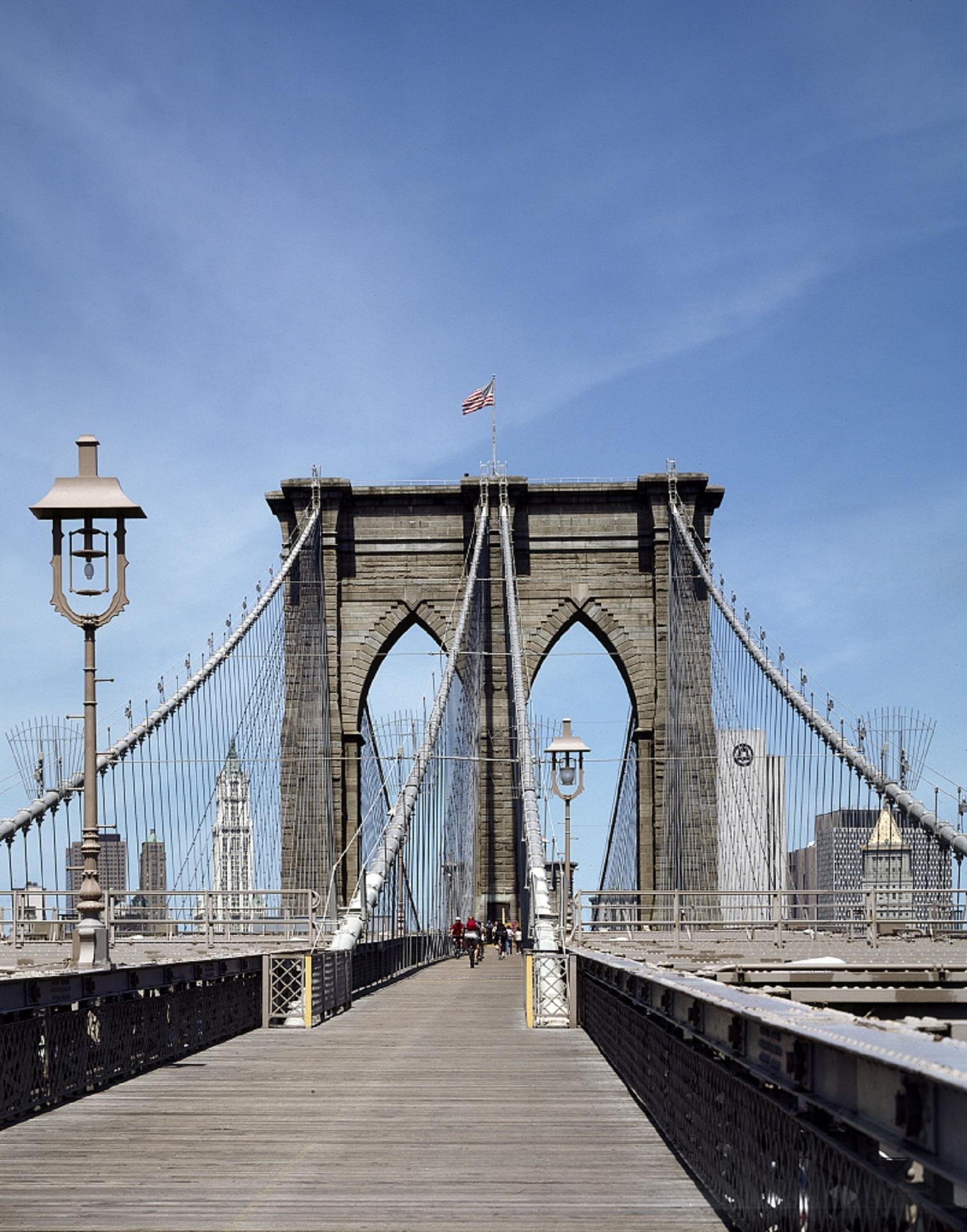 Brooklyn Bridge, Architecture, Bridge, Brooklyn, City, HQ Photo