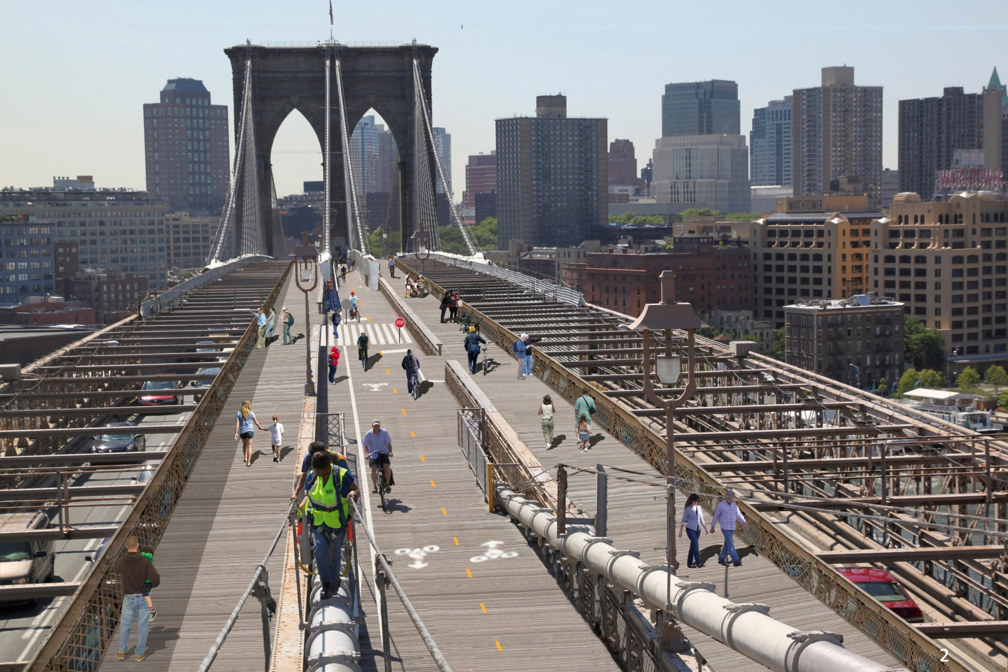 NYC DOT plans Brooklyn Bridge expansion - Archpaper.com