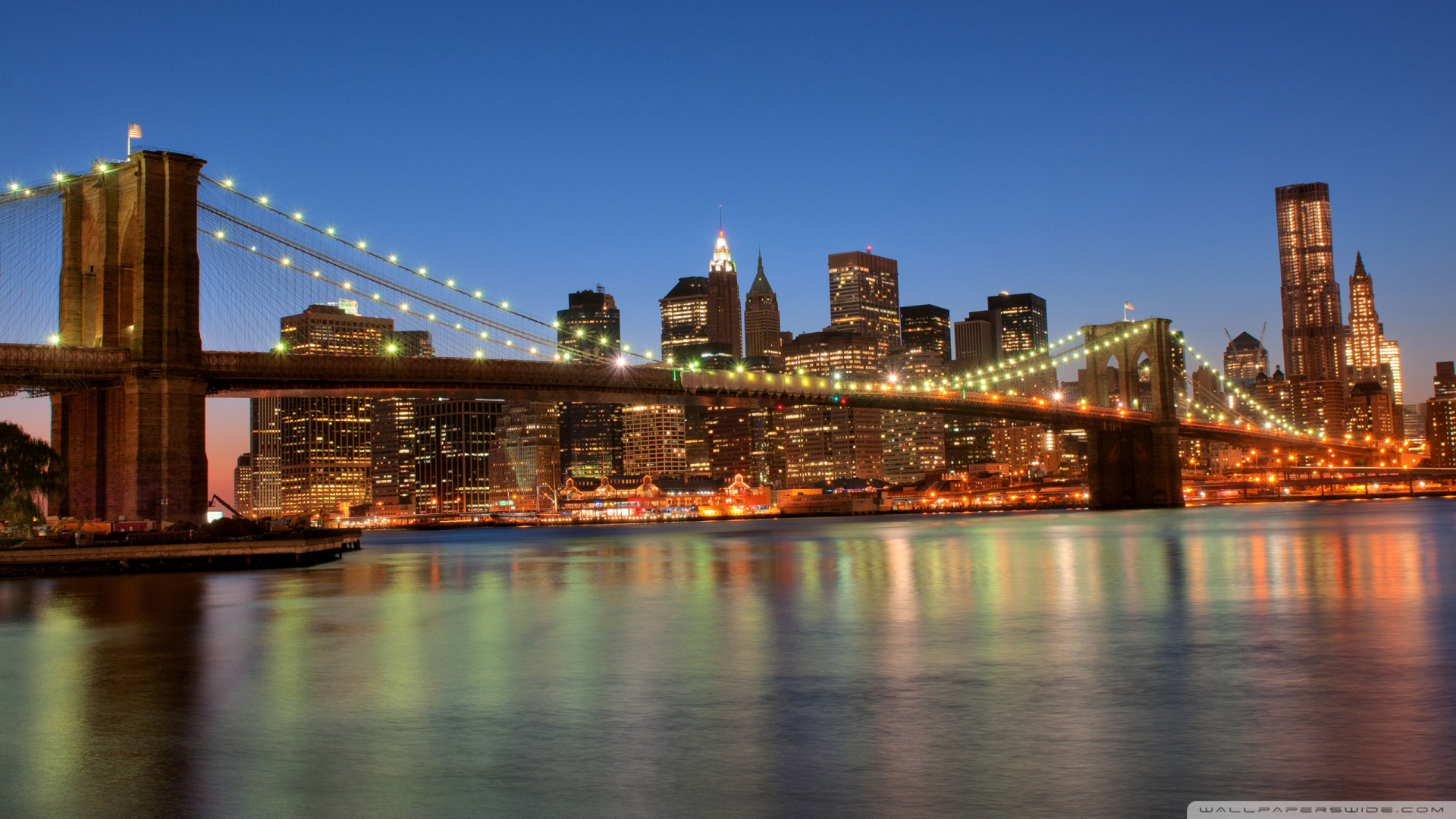 Brooklyn Bridge USA ❤ 4K HD Desktop Wallpaper for 4K Ultra HD TV ...