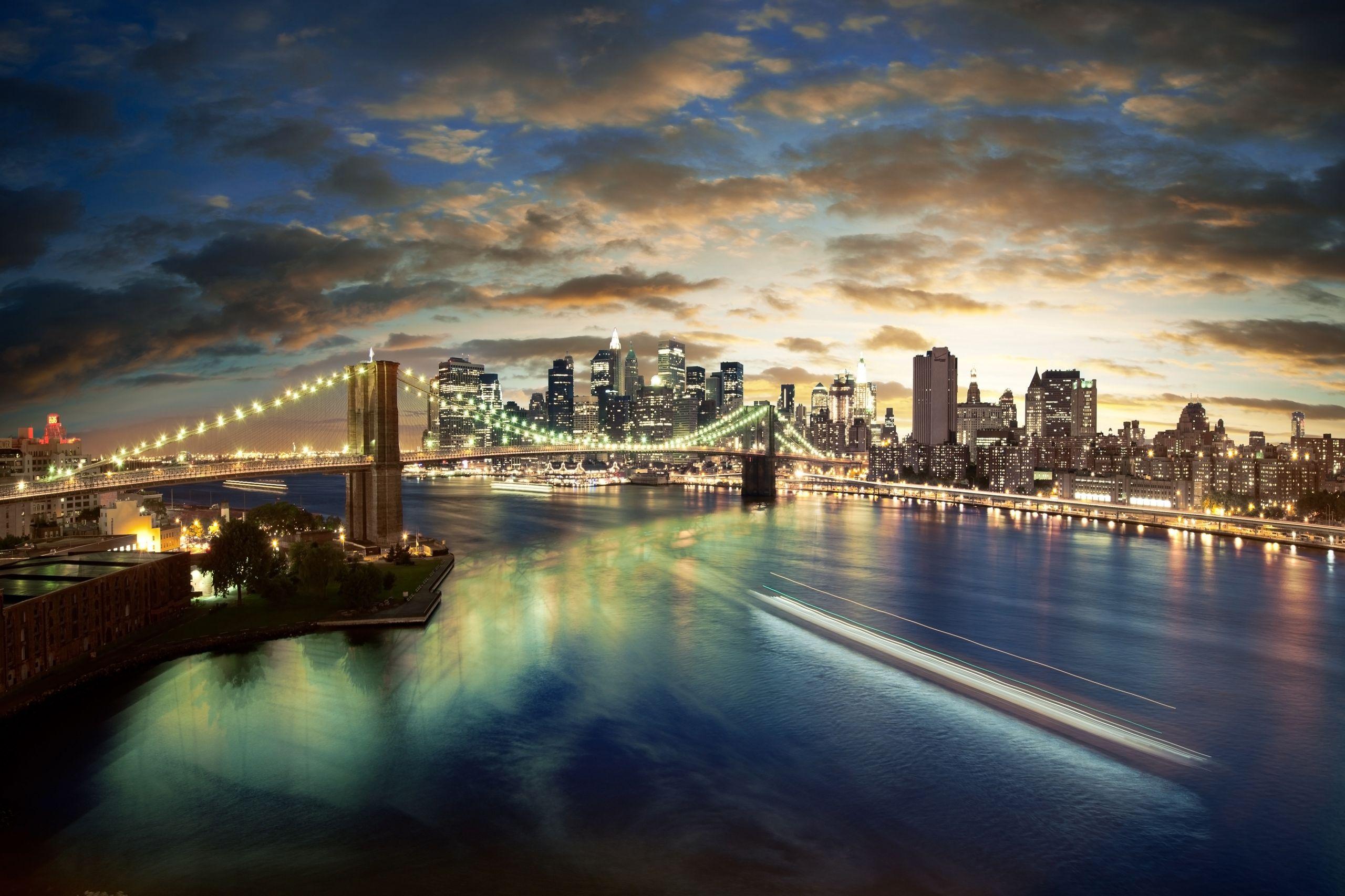 Brooklyn Bridge (New York, USA) / 2560 x 1706 / Locality ...
