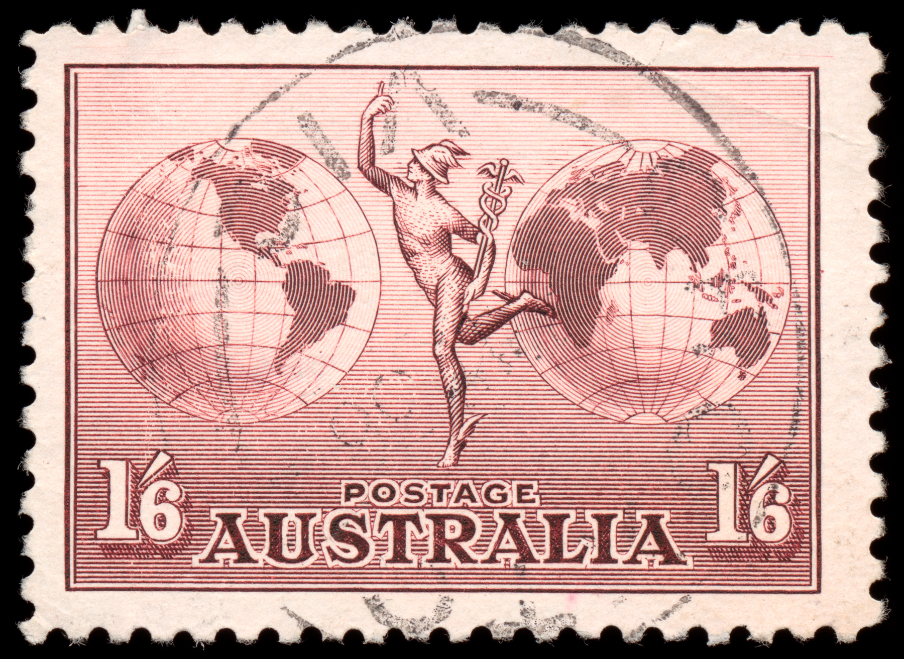 Brown Airmail Stamp, 1, Picture, Resolution, Res, HQ Photo