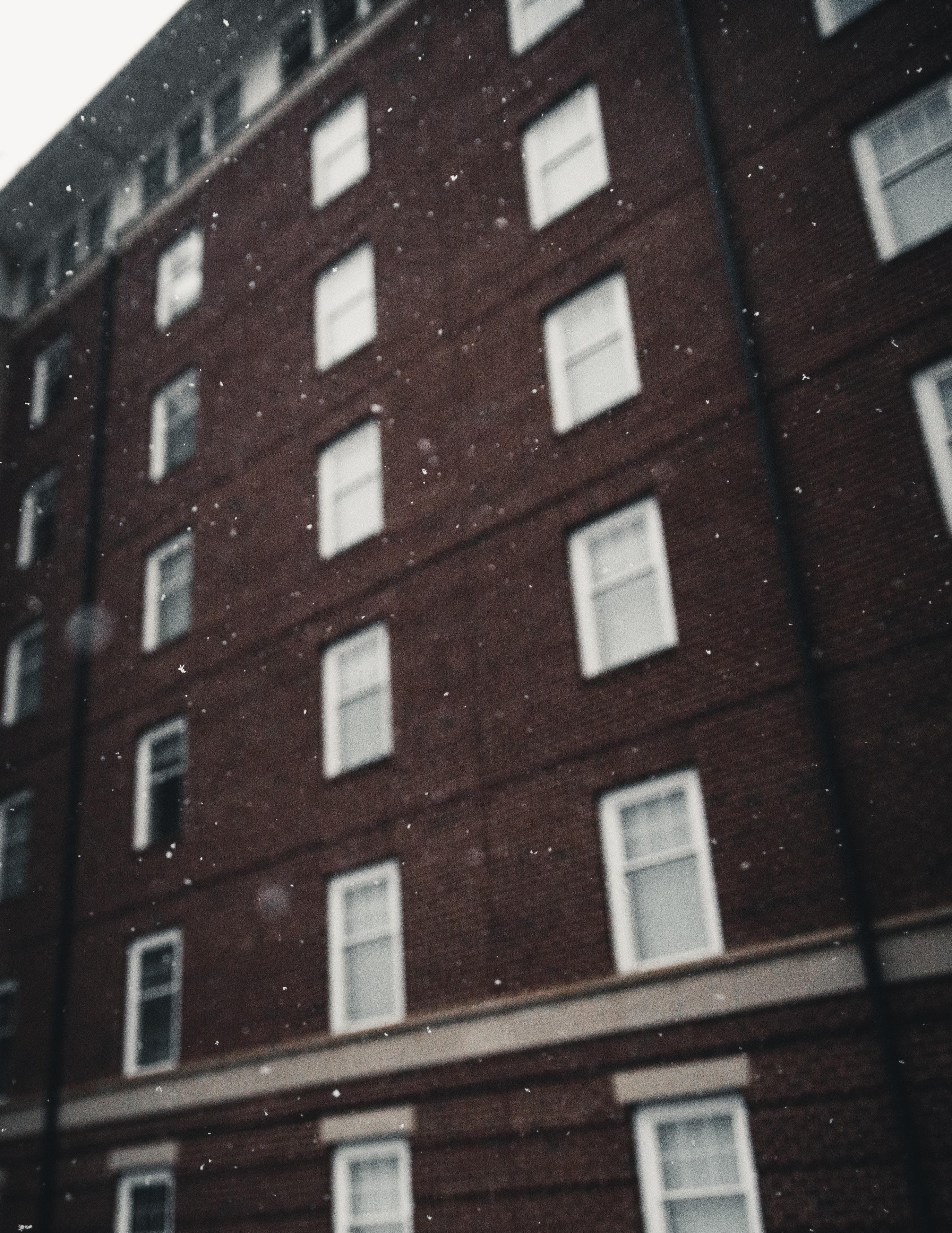 Brown and white concrete building photo