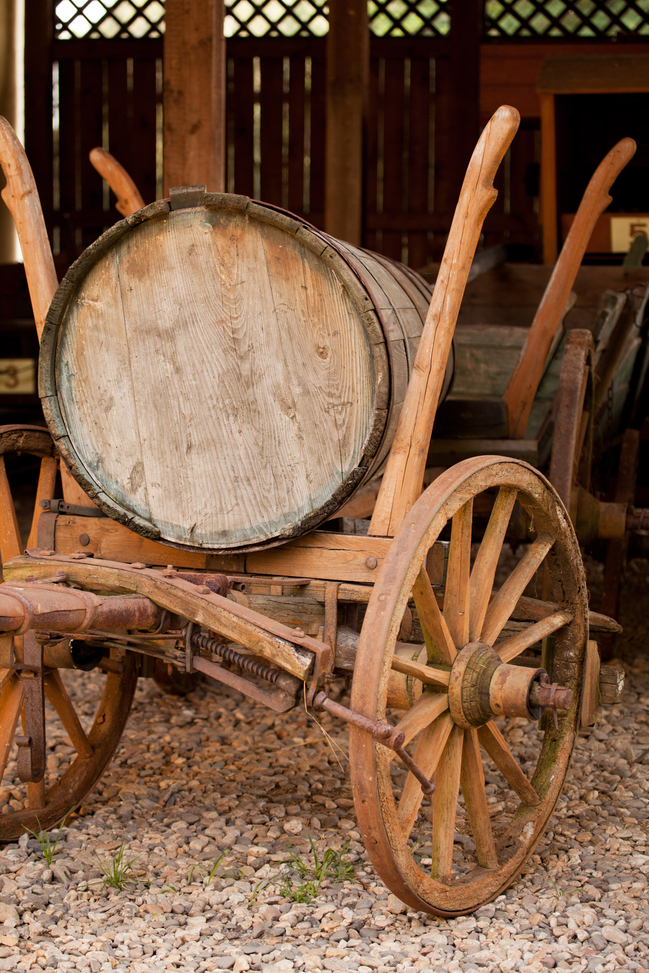 Old Wooden Wagon Free Stock Photo - Public Domain Pictures