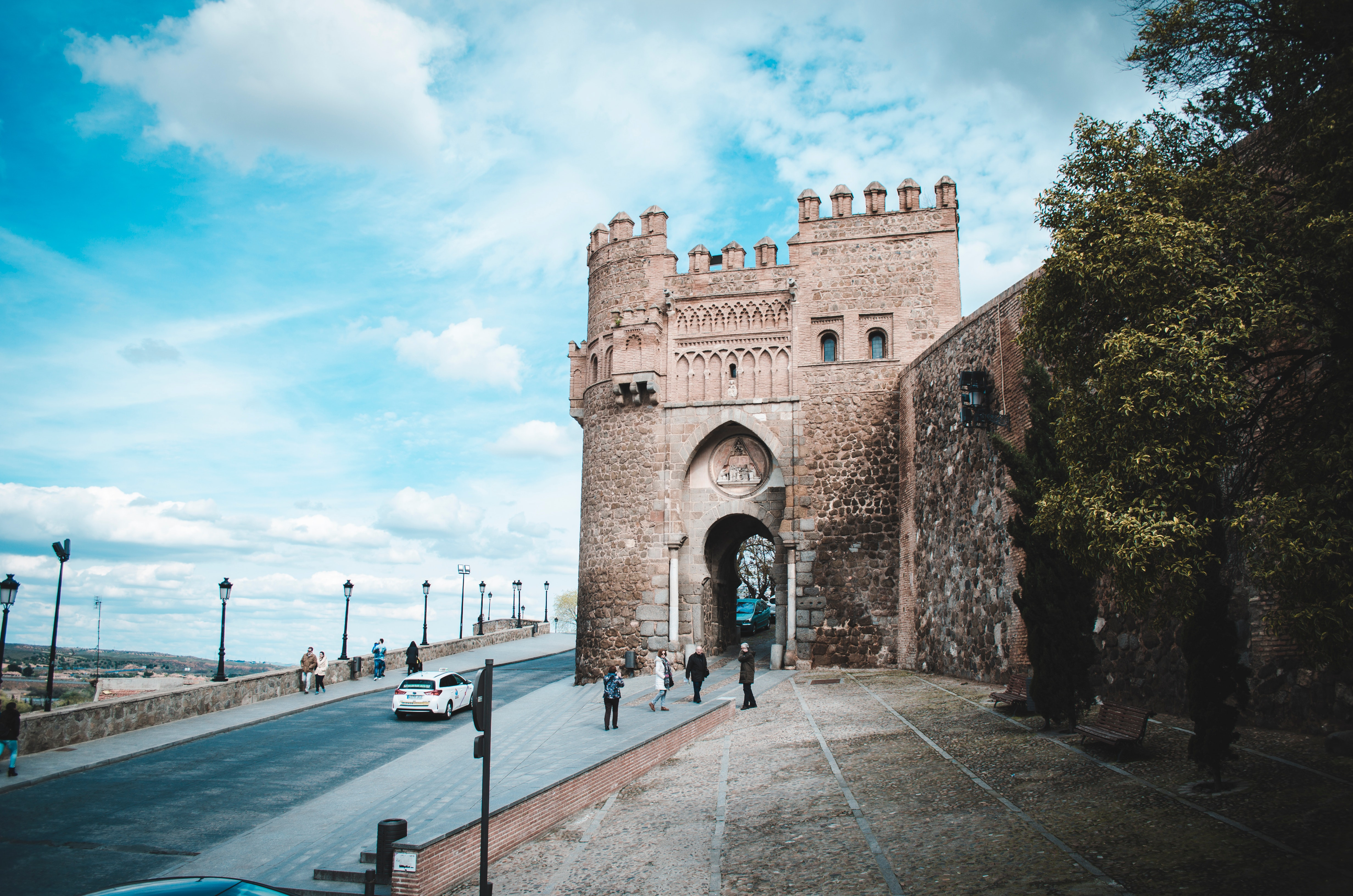 Brown castle photo